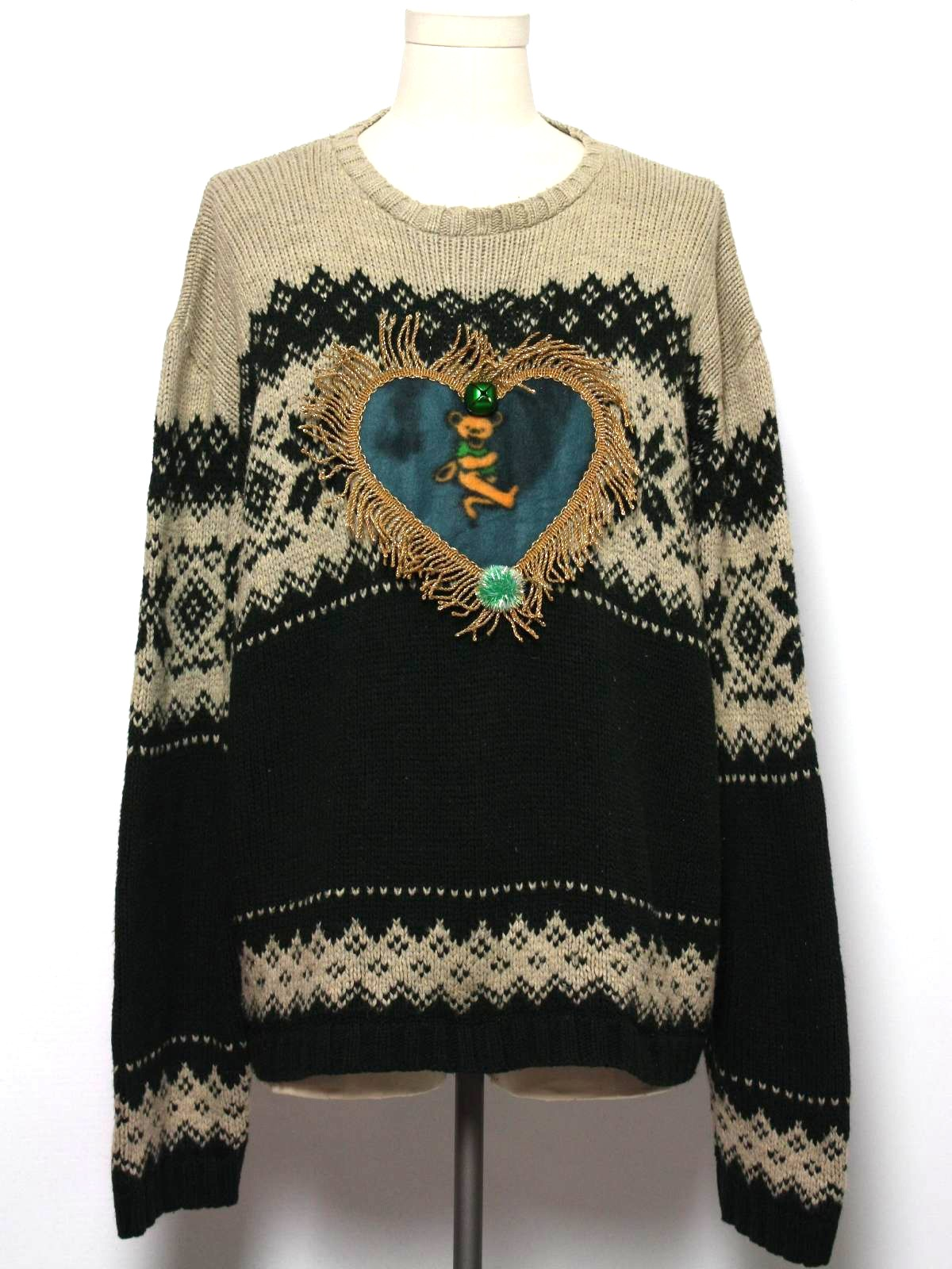 Mens Grateful Dead Ugly Christmas Sweater Arizona Jean Co Mens