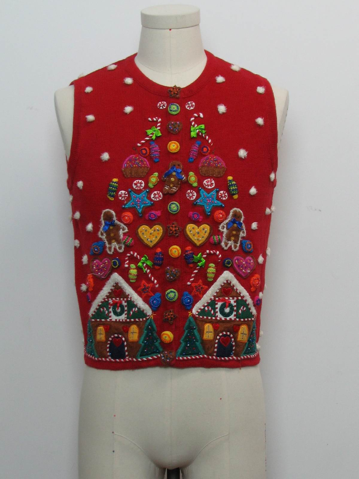 Marisa Christina Womens Ugly Christmas Sweater Vest $34.00 Not in stock. Item No. 270511