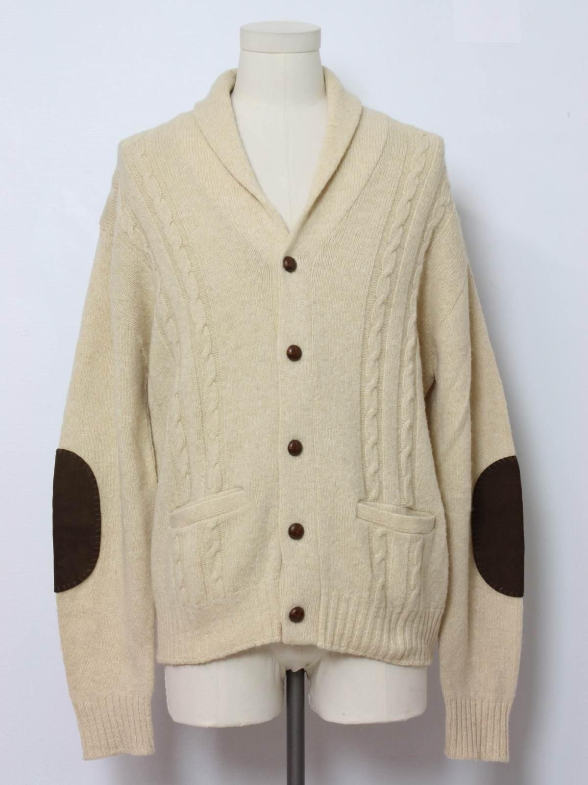 Vintage Jantzen Seventies Caridgan Sweater: 70s -Jantzen- Mens off ...