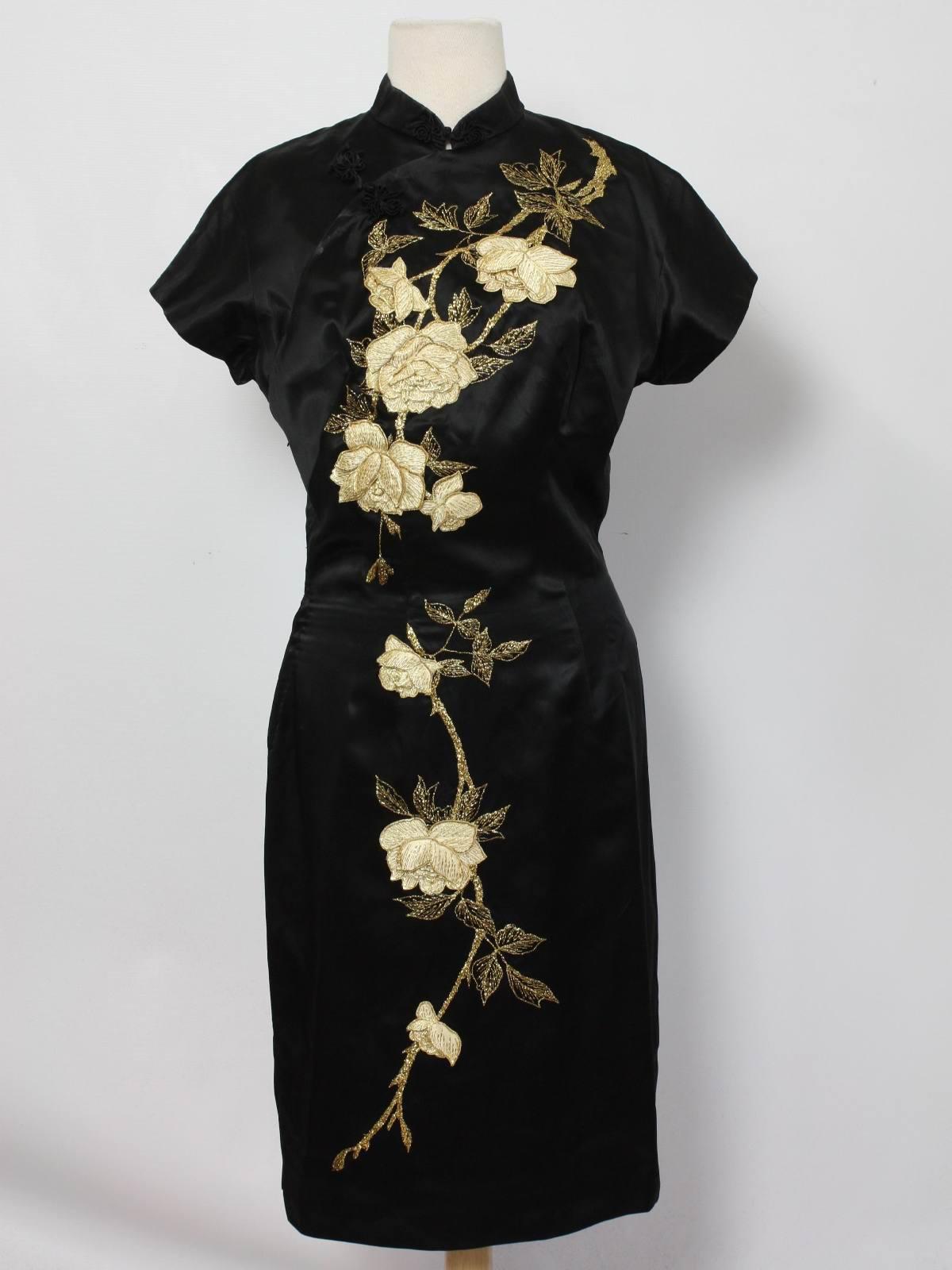 1960 S Cocktail Dress Clover Clothing Hong Kong 60s