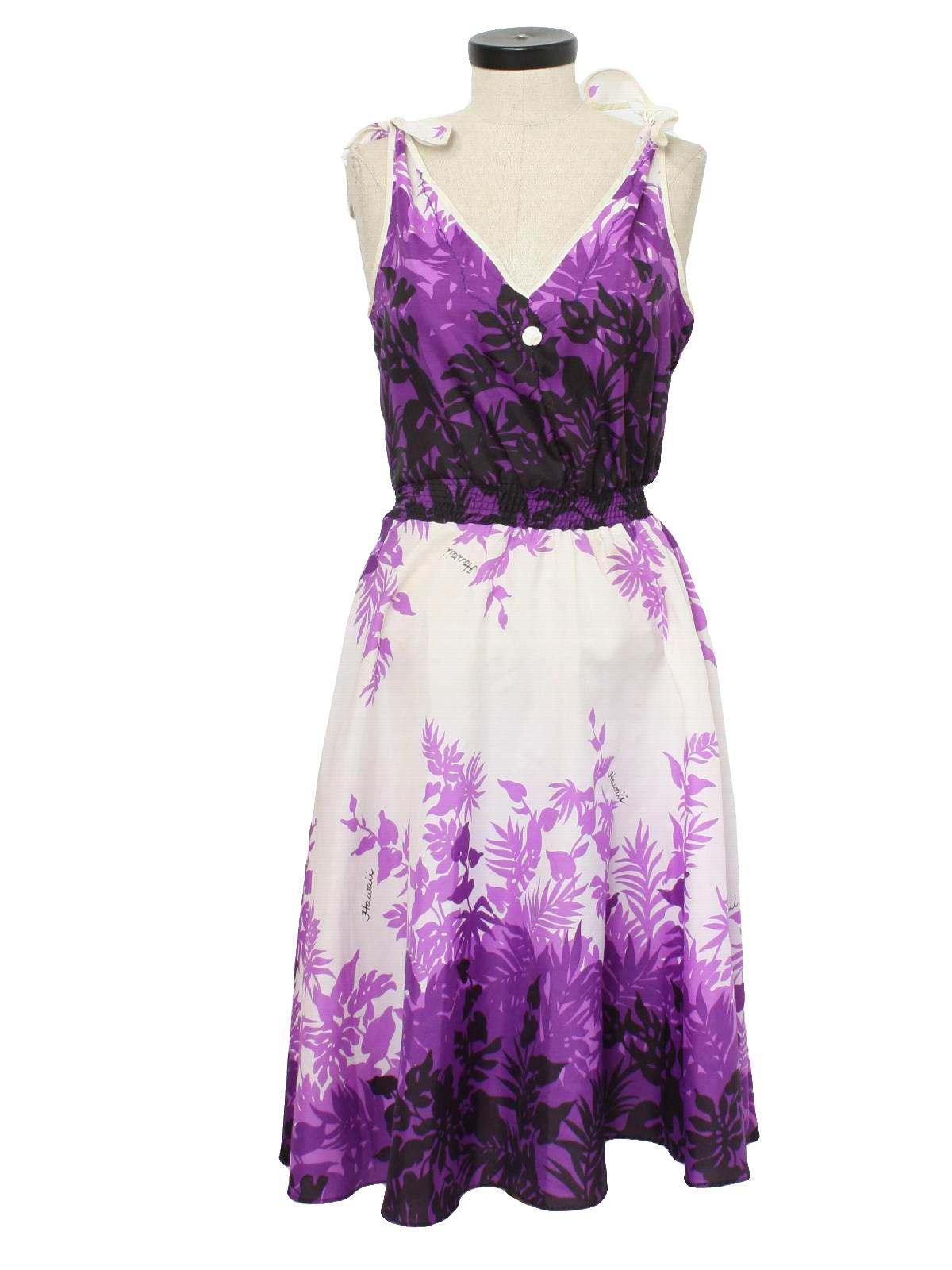 Retro 1980's Hawaiian Dress (Hawaii Creations) : 80s ... | 1200 x 1600 jpeg 157kB
