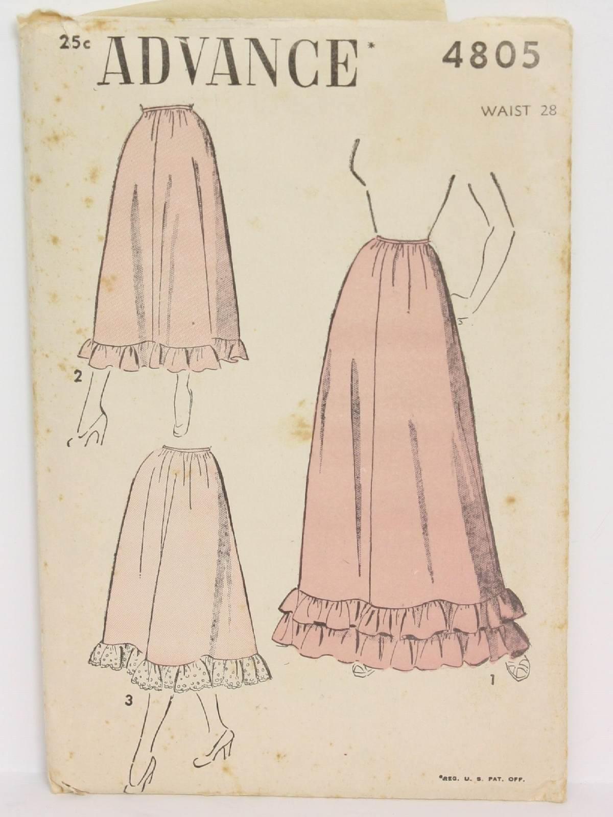 1940s Vintage Advance Pattern No. 9141 Sewing Pattern