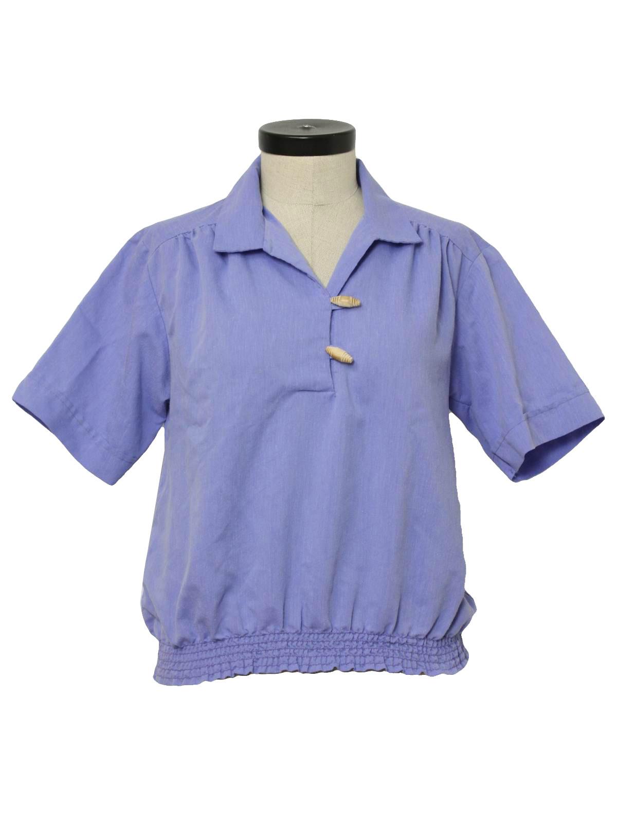 Mens Banded Waist Shirts