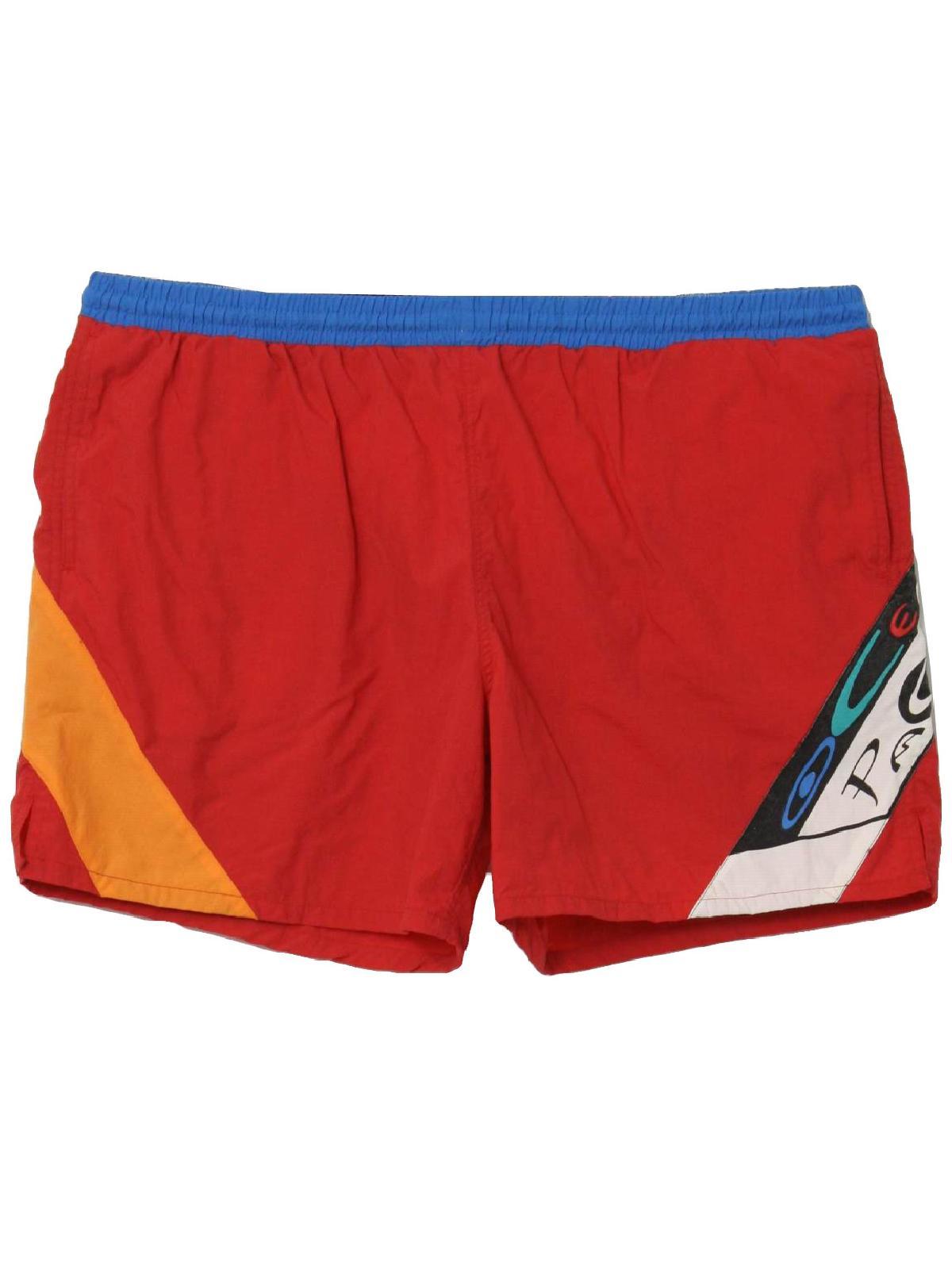 5ca0c35848 80's OP Ocean Pacific Made in USA Swimsuit/Swimwear: 80s -OP Ocean ...