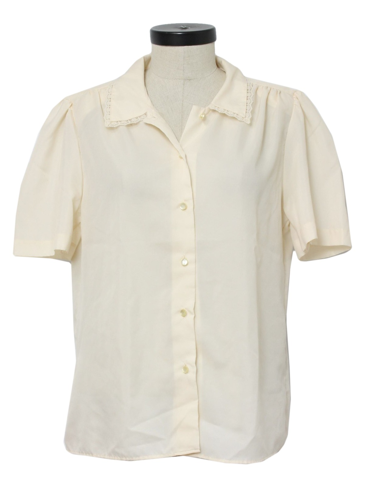 39a11979 Separate Issue 80's Vintage Shirt: 80s -Separate Issue- Womens cream ...