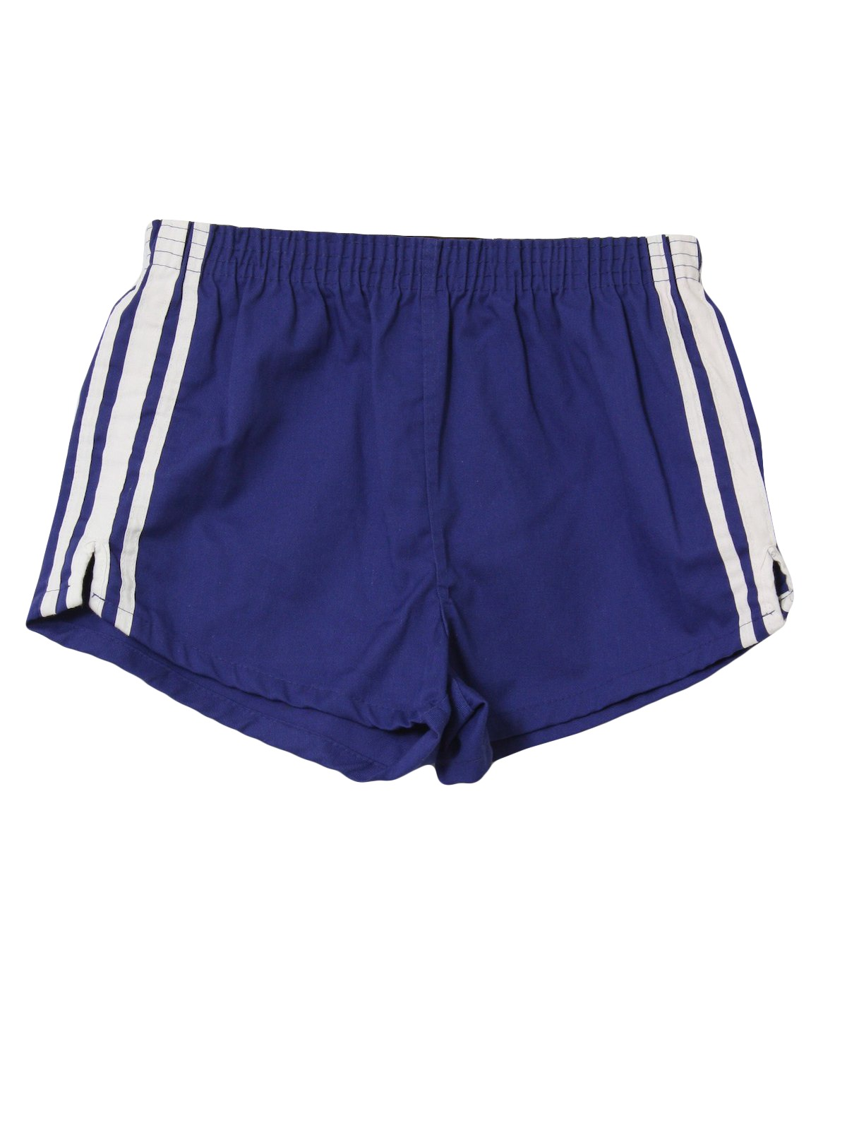 1980 S Retro Shorts 80s Athletic Shorts Mens Blue