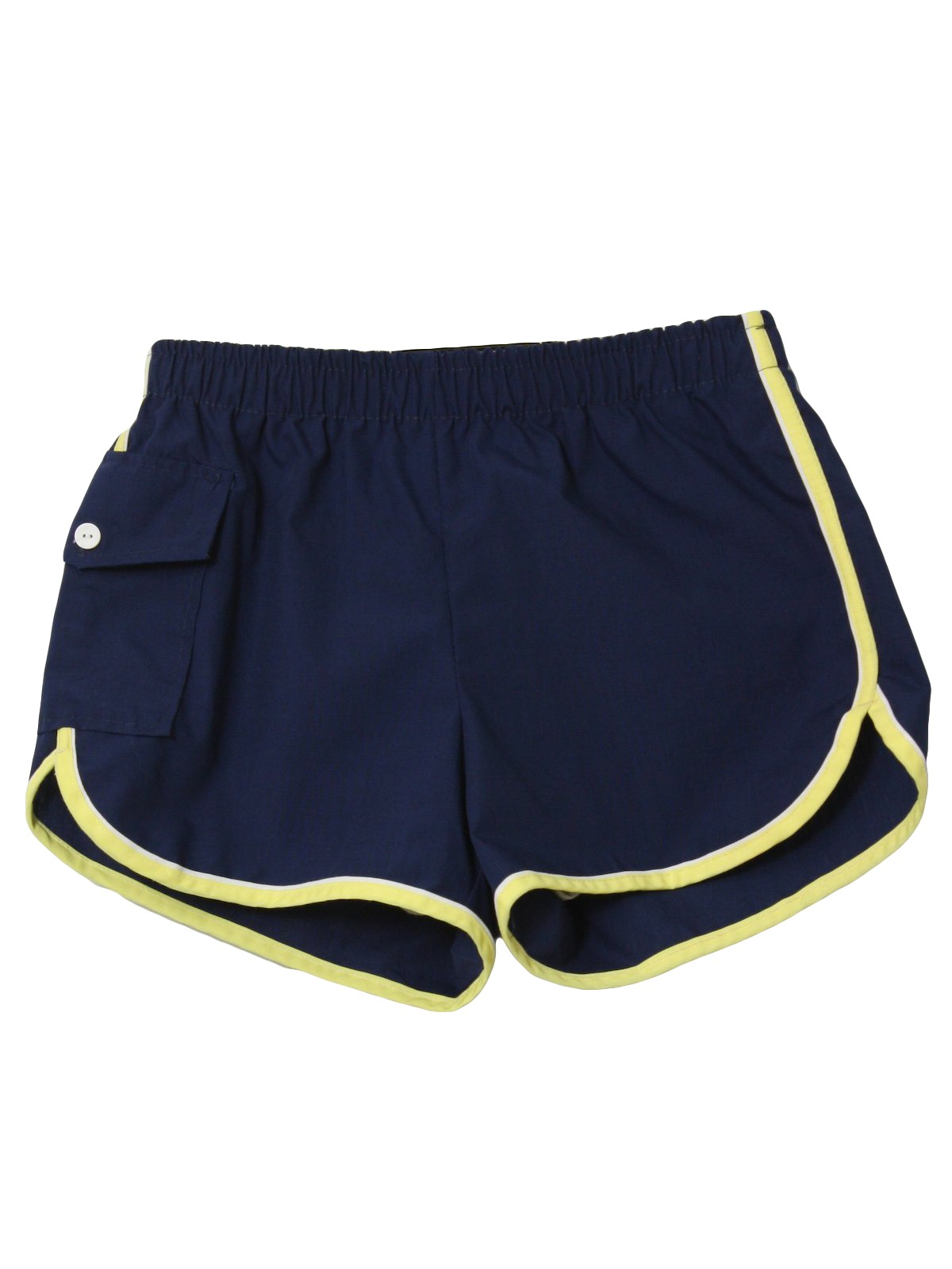 922c3758f0 80s Swimsuit/Swimwear: 80s -styled in California JCPenney- Mens dark ...
