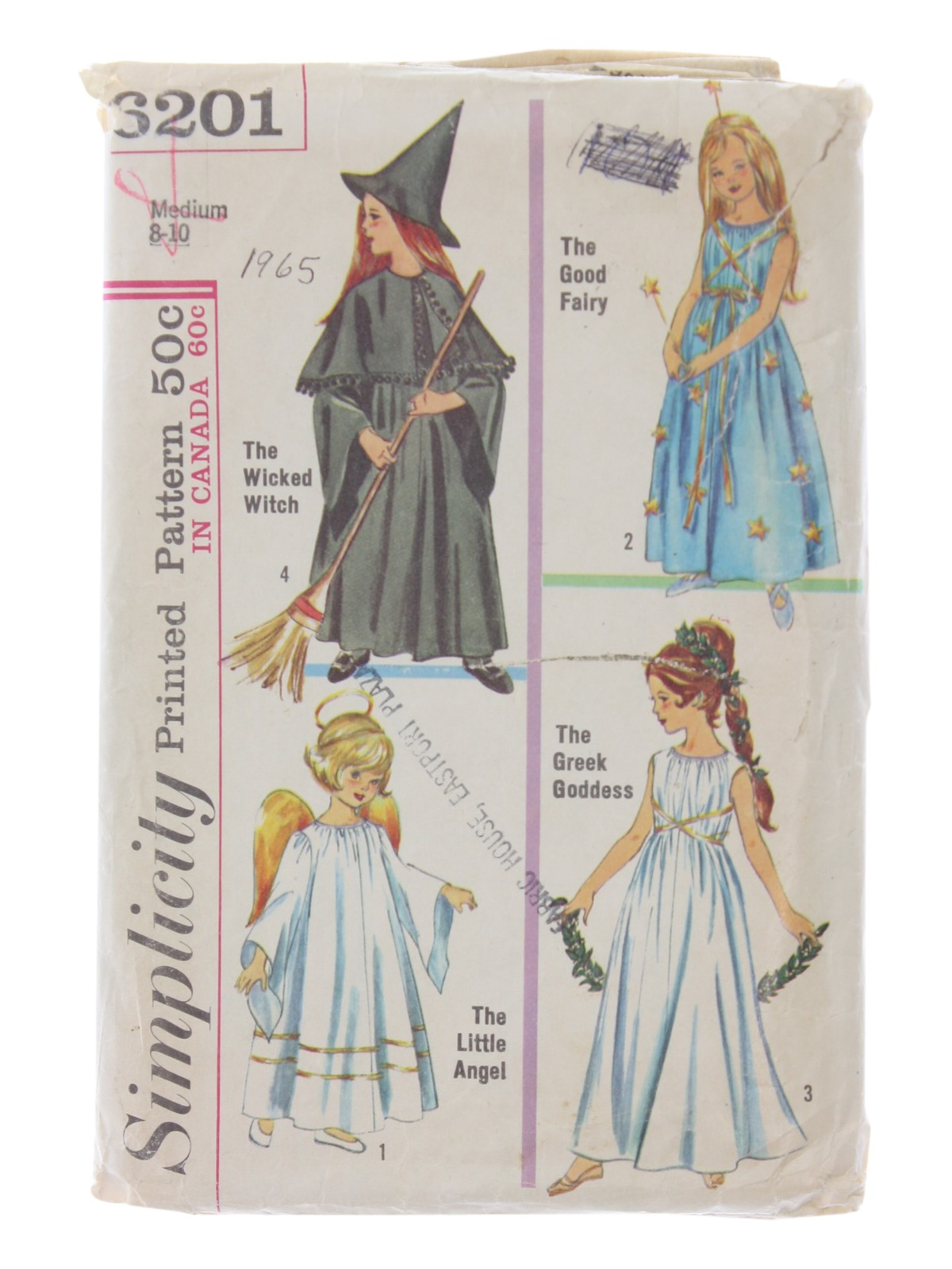Sixties Vintage Sewing Pattern: 60s -Simplicity Pattern No. 6201 ...