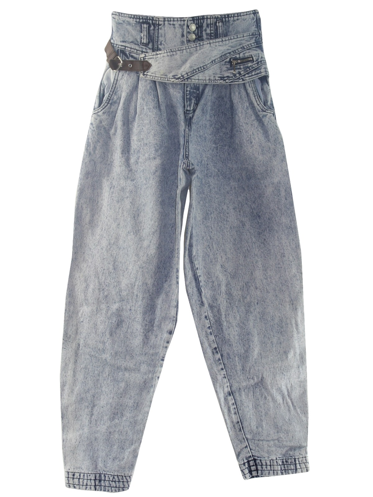 0d8598fbb97 80 s Jordache Pants  80s -Jordache- Womens shaded blue and off white ...