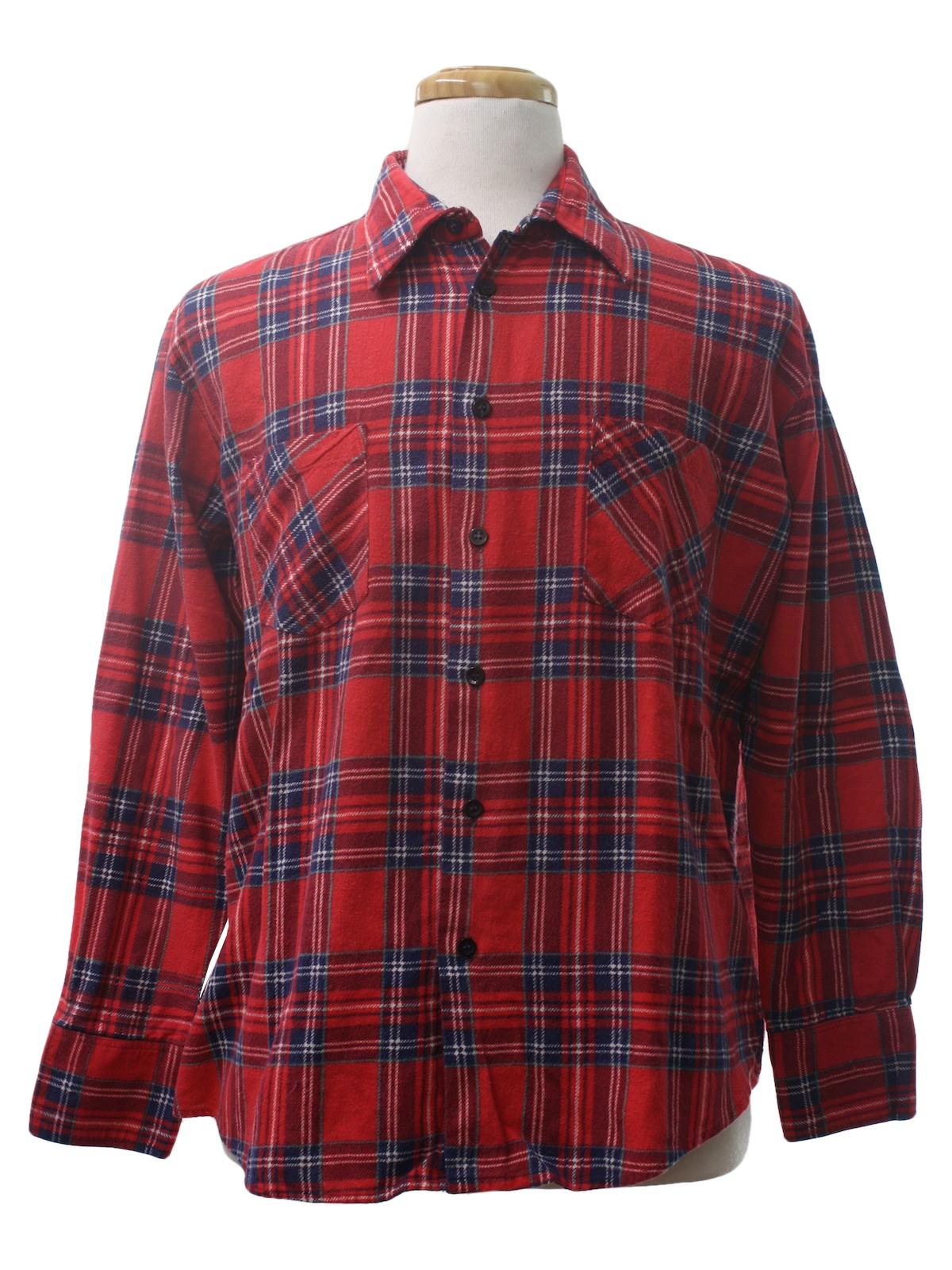 90s shirt highlander flannel 90s highlander flannel for Navy blue and red flannel shirt