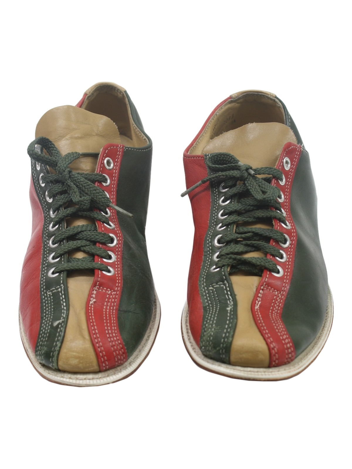 No Label Sixties Vintage Shoes: 60s -No Label- Mens red, green ...
