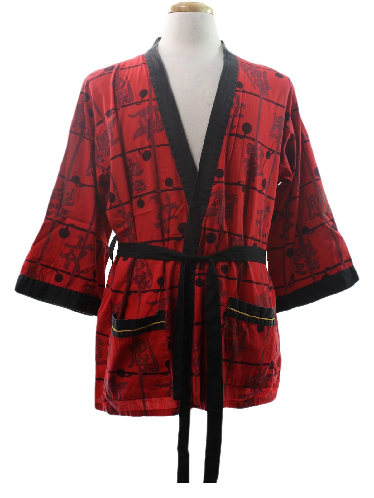 Retro 1960s Mens Robe: Early 60s -Kabuki Sleepwear by Weldon- Mens ...