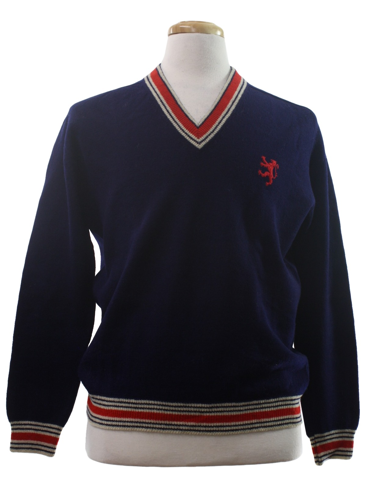 Navy Blue Sweater Womens