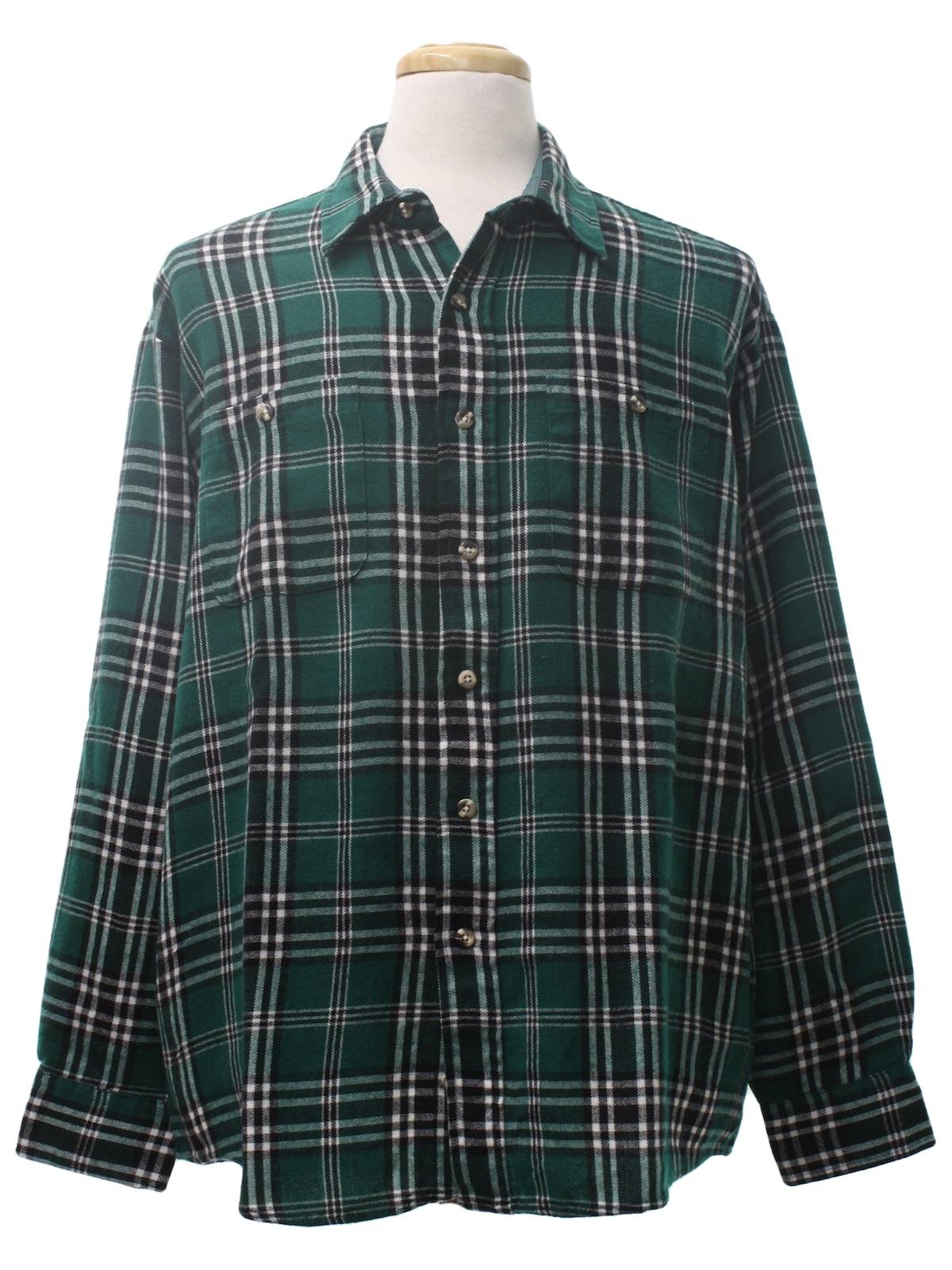 80s Vintage Windridge Shirt 80s Windridge Mens Teal