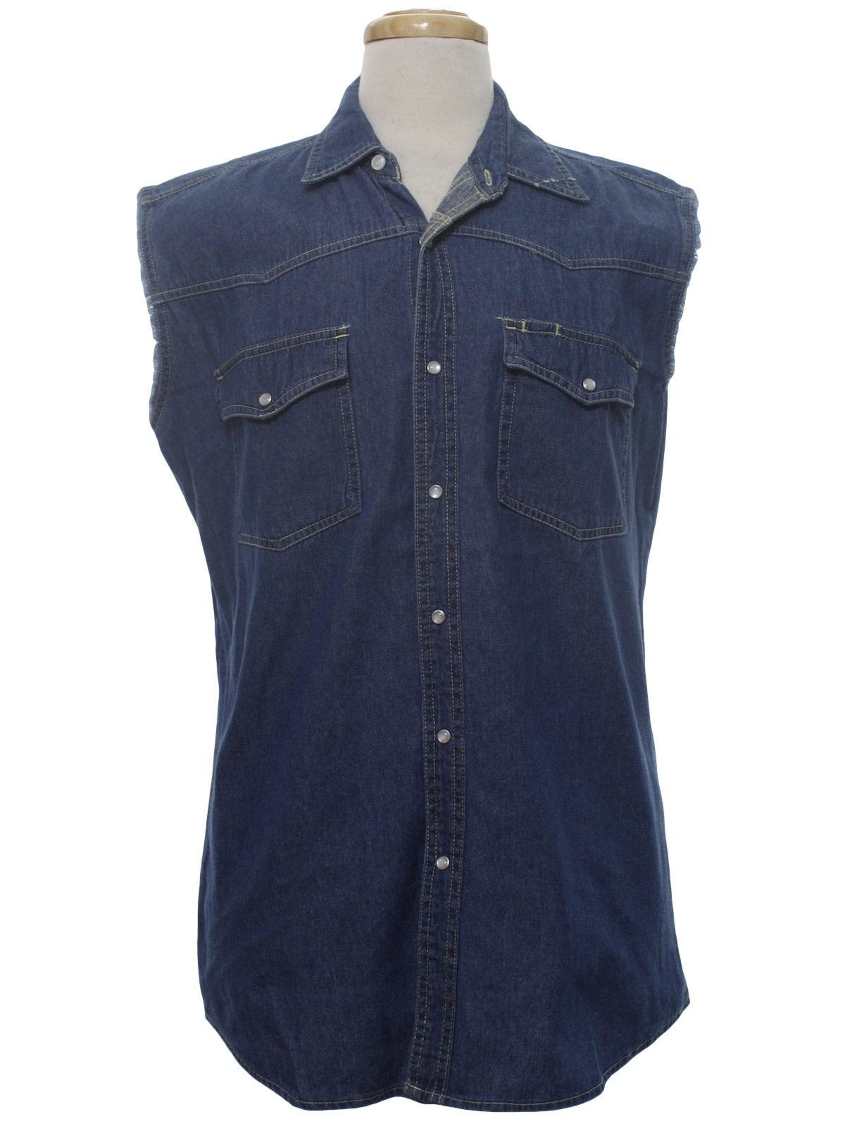 Womens Sleeveless Shirts With Collar