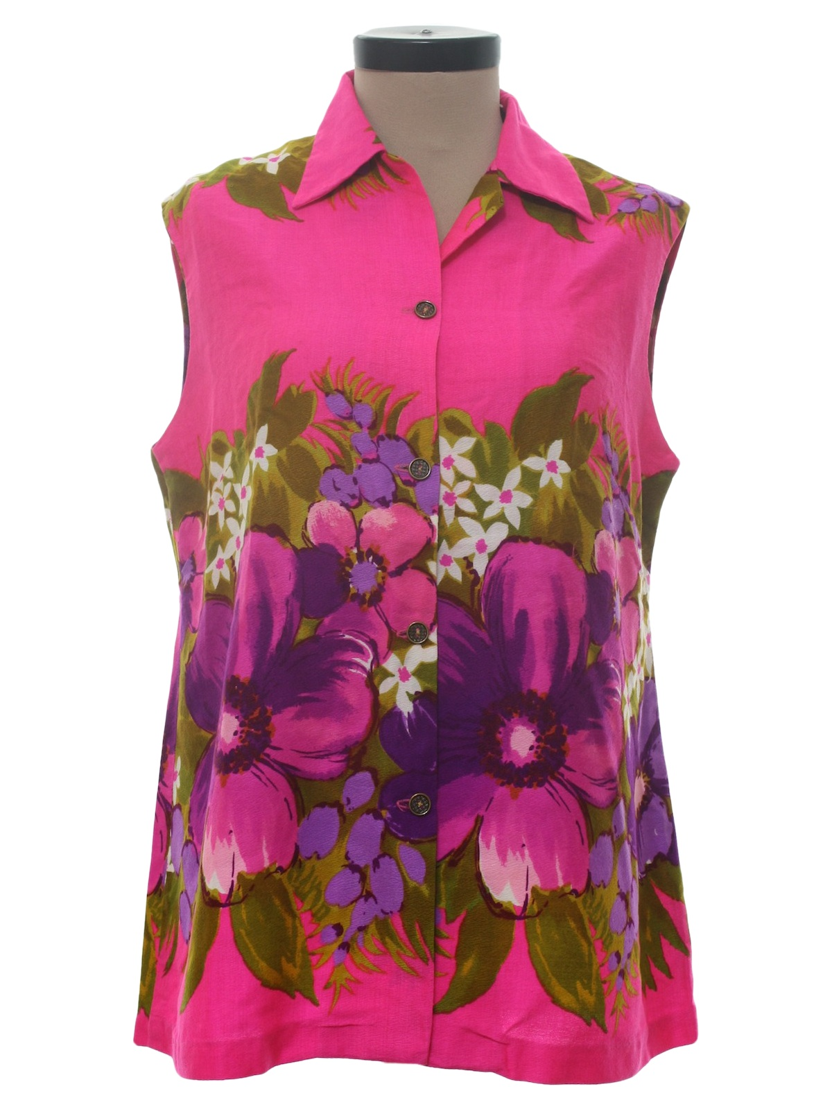 Women'S Blouses Hawaiian 85