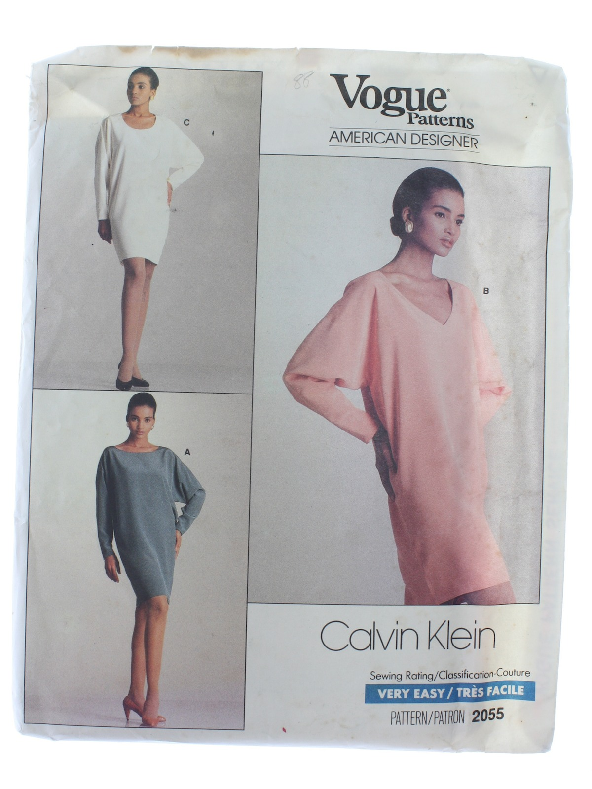 Eighties Vintage Sewing Pattern: 80s -Vogue American