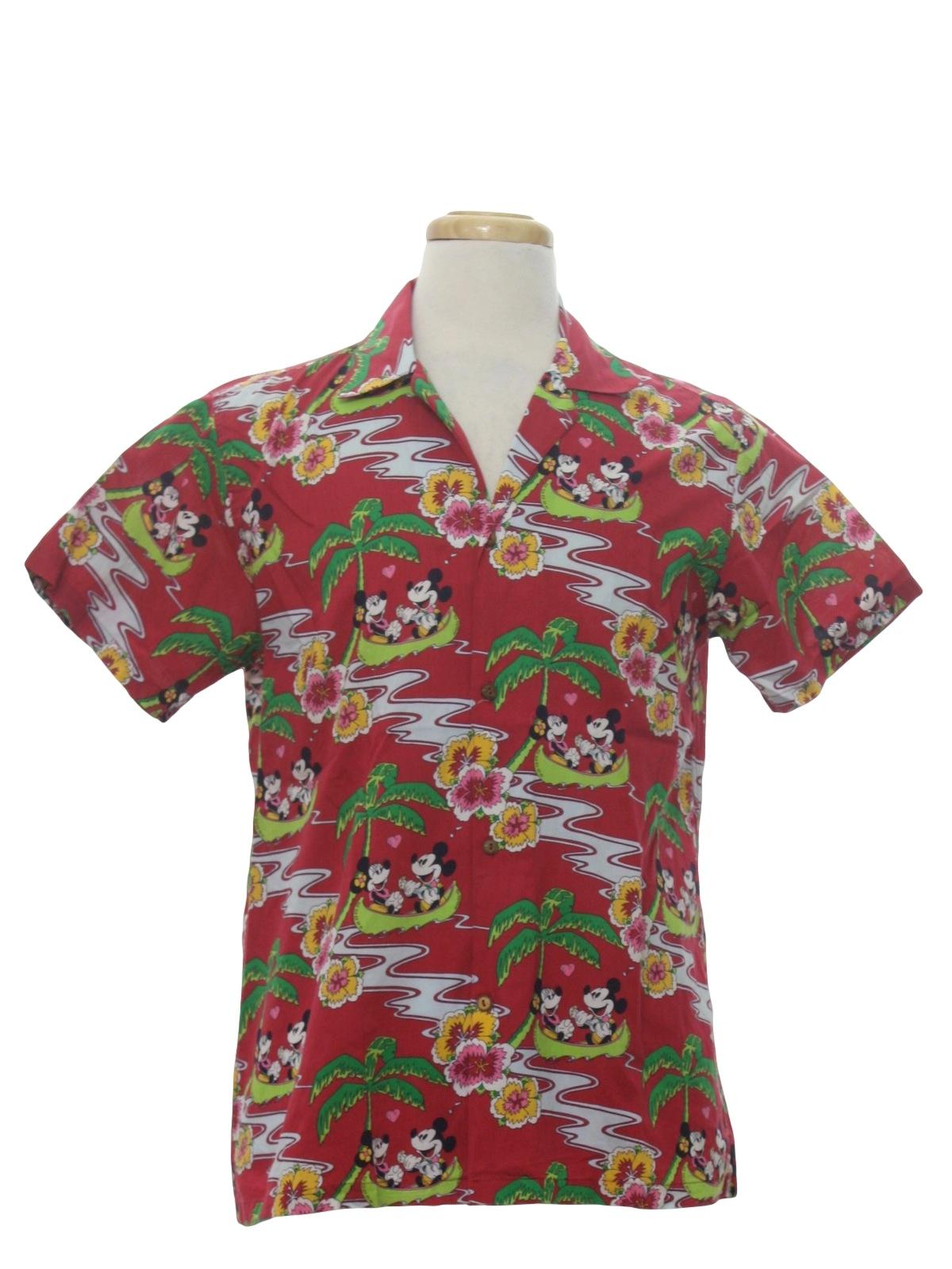 8231a014 Retro 80s Hawaiian Shirt (Mickey and Co J G Hook) : 80s -Mickey and ...