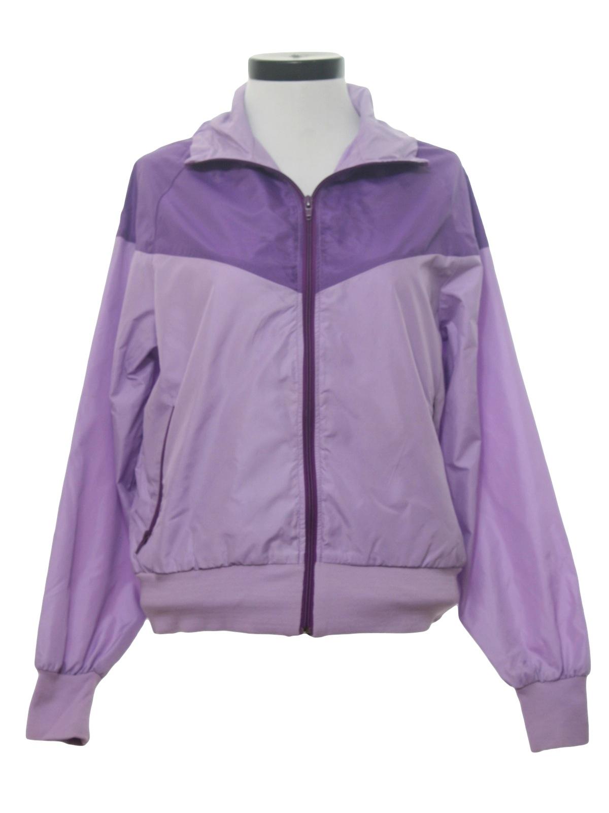 d389eae68782 Eighties Vintage Jacket  80s -Nike- Womens purple and lavender ...