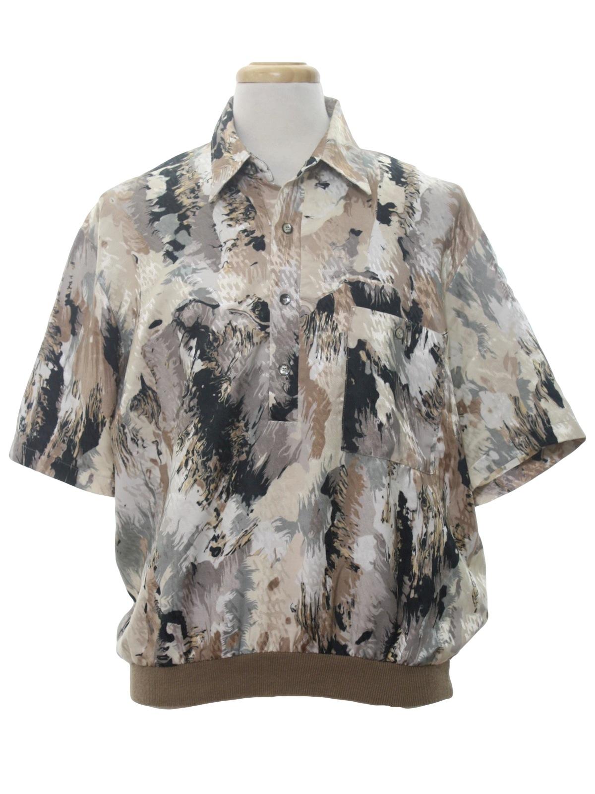 vintage alan stuart 80 u0026 39 s shirt  80s