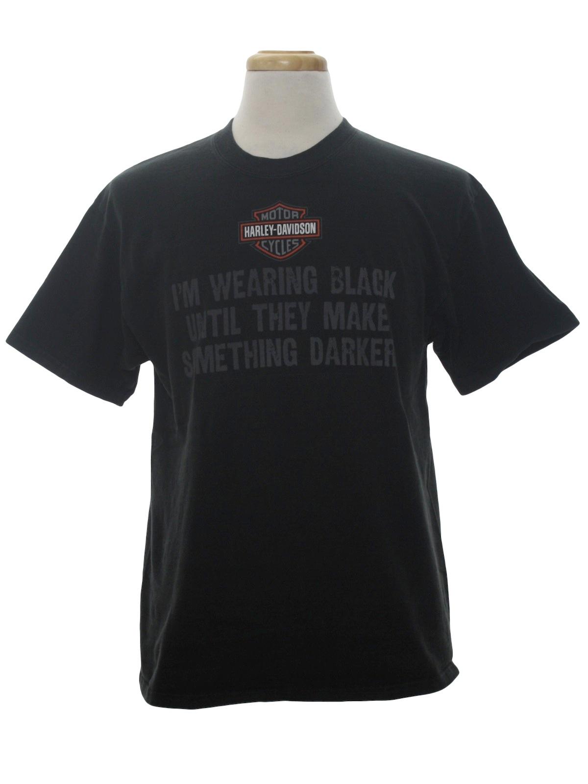 T shirt 90s harley davidson unisex black background for T shirt printing loveland co