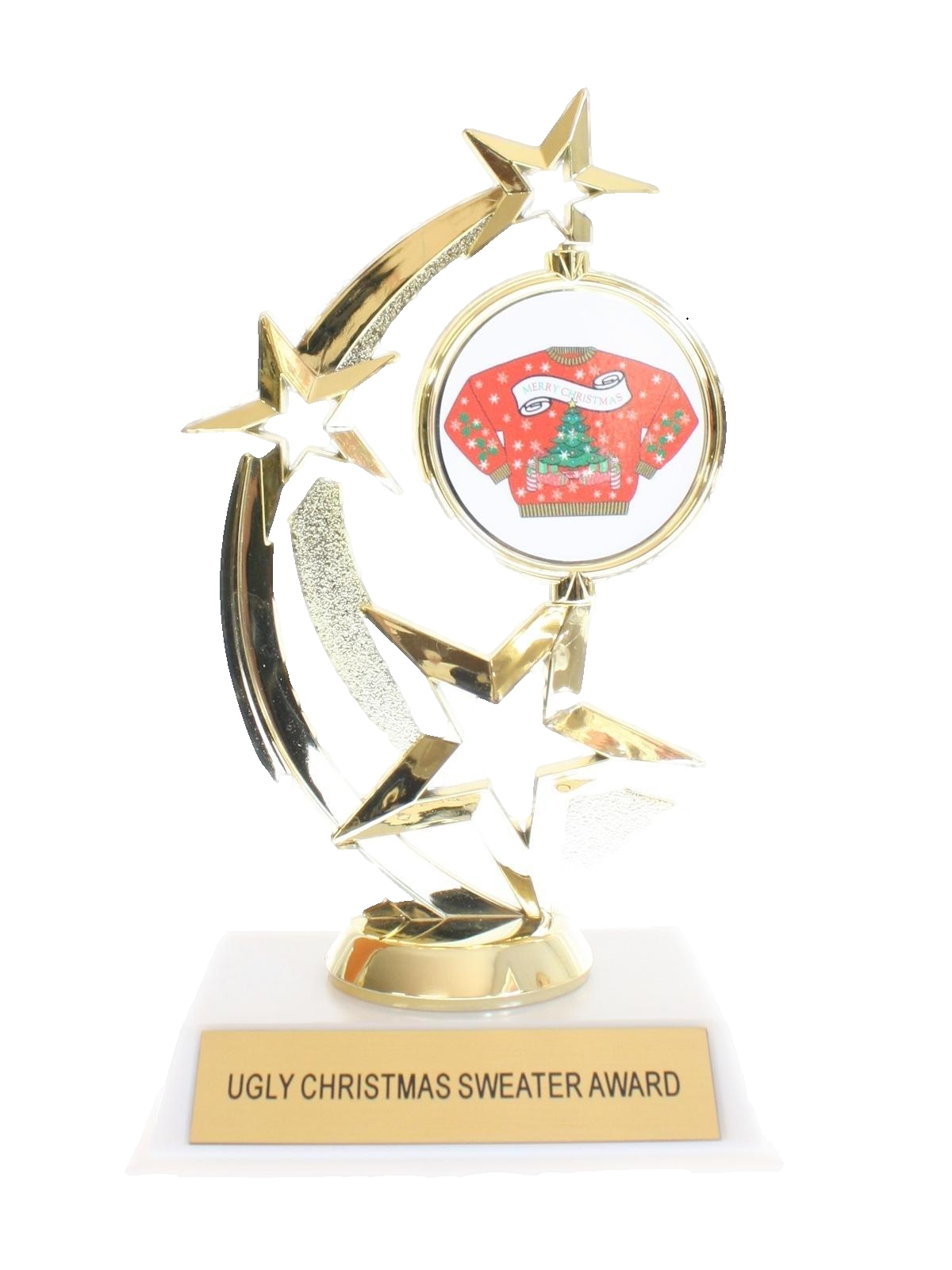Accessories - Ugly Christmas Sweater Party Trophy Award: 90s -UGLY ...