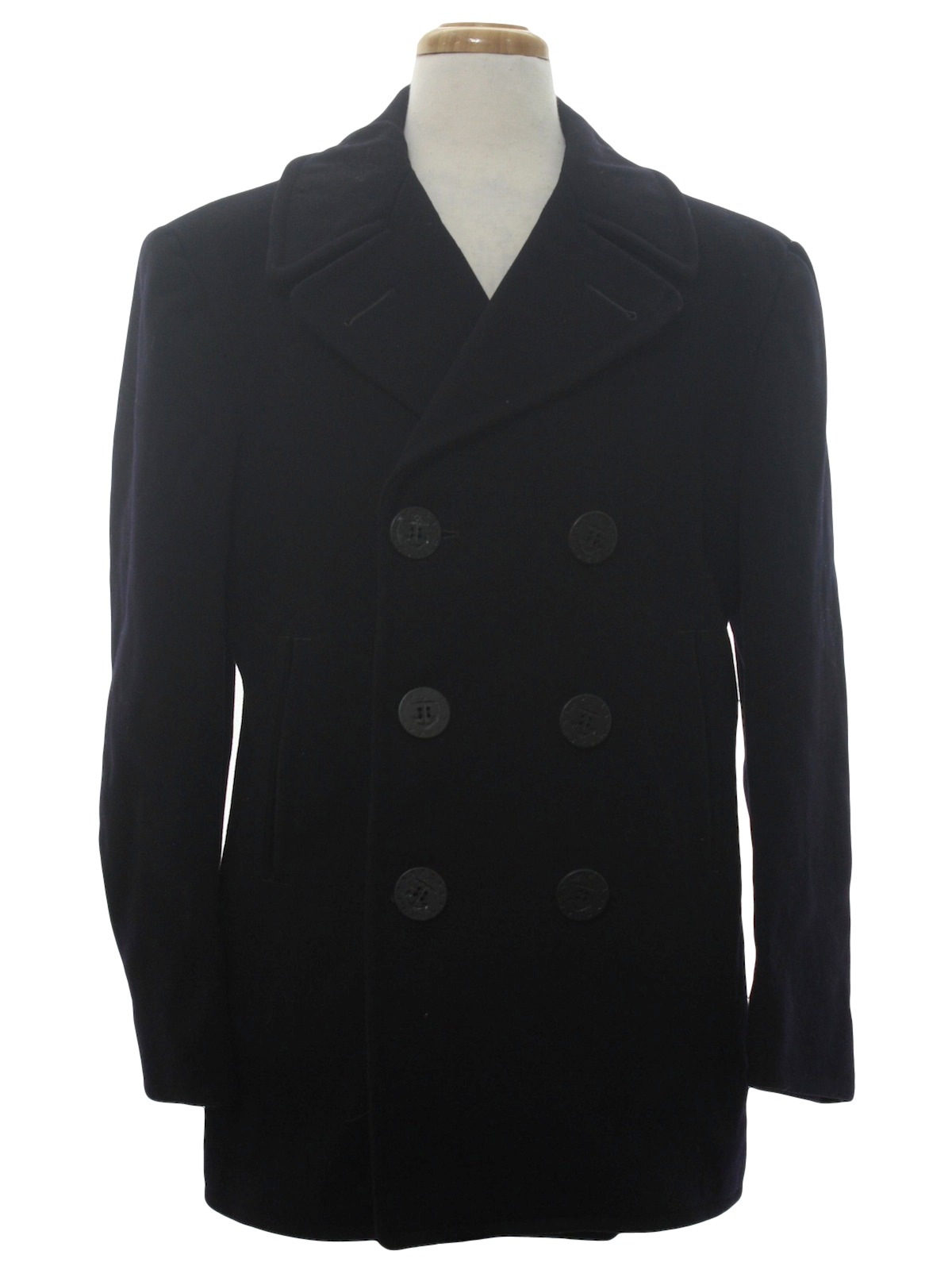 Vintage 1950's Jacket: Early 50s -Naval Clothing Depot ...