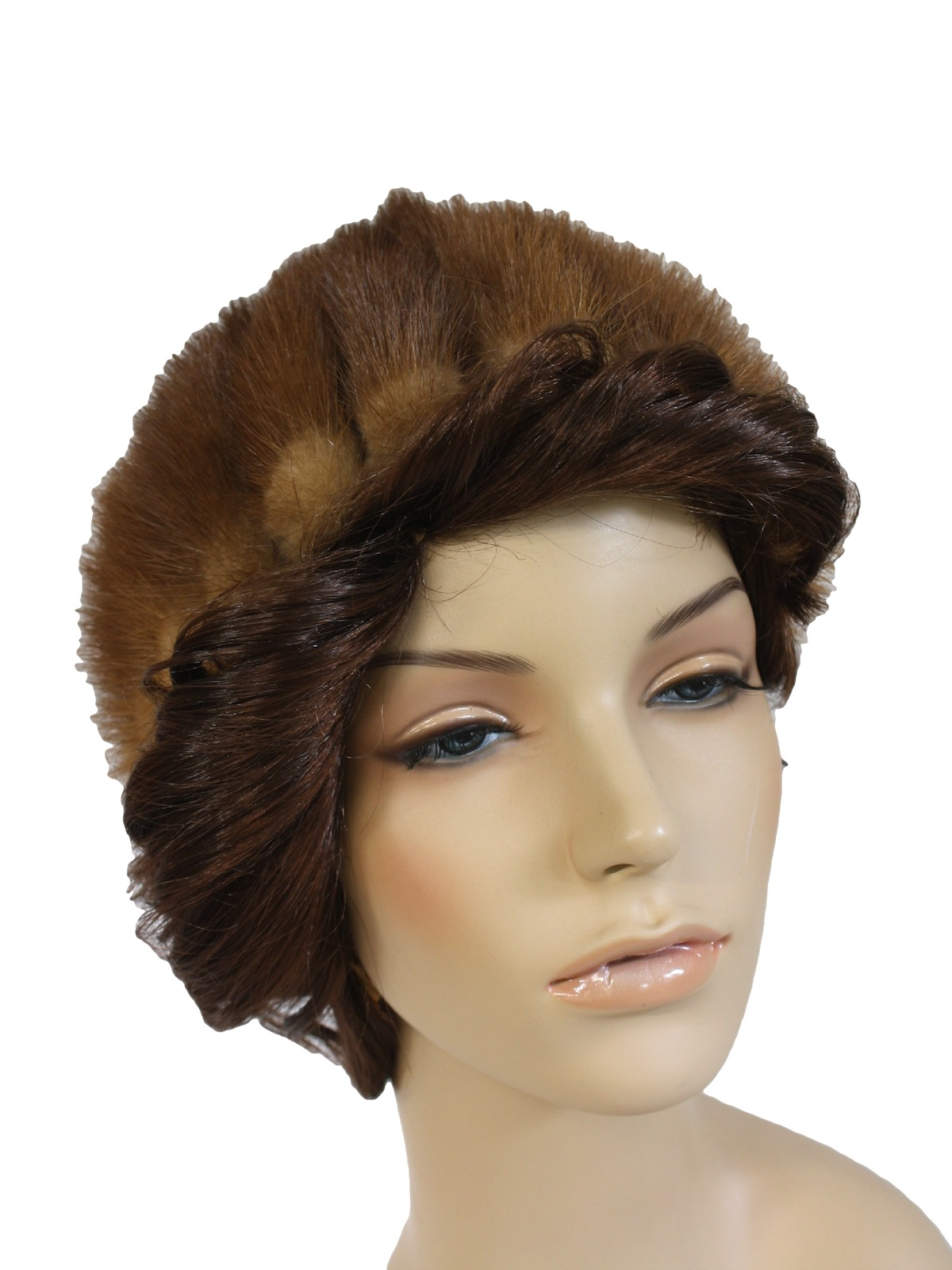 60 s vintage hat 60s kates boutique canada womens brown