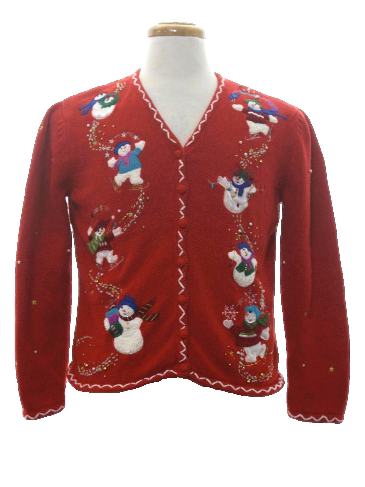 Womens Ugly Christmas Cardigan Sweater: -Designers Originals ...