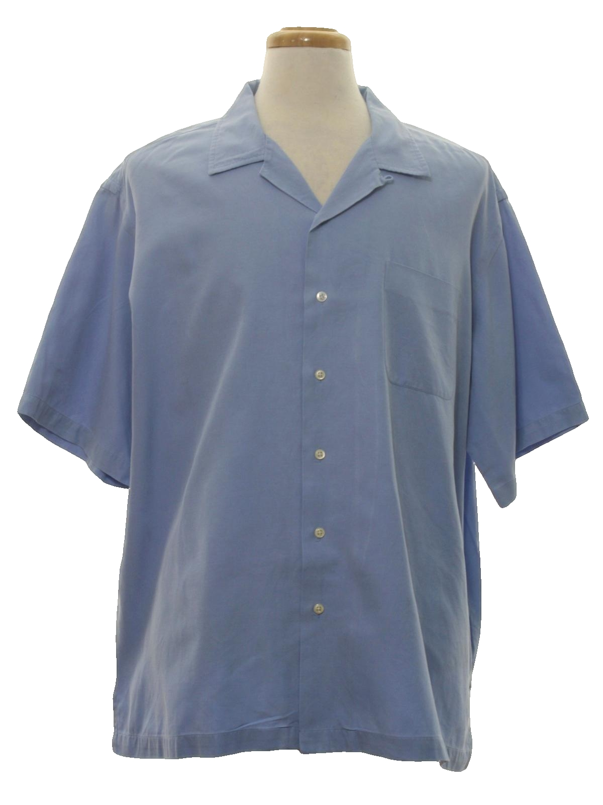 Polo ralph lauren nineties vintage gabardine shirt 50s for Mens rayon dress shirts