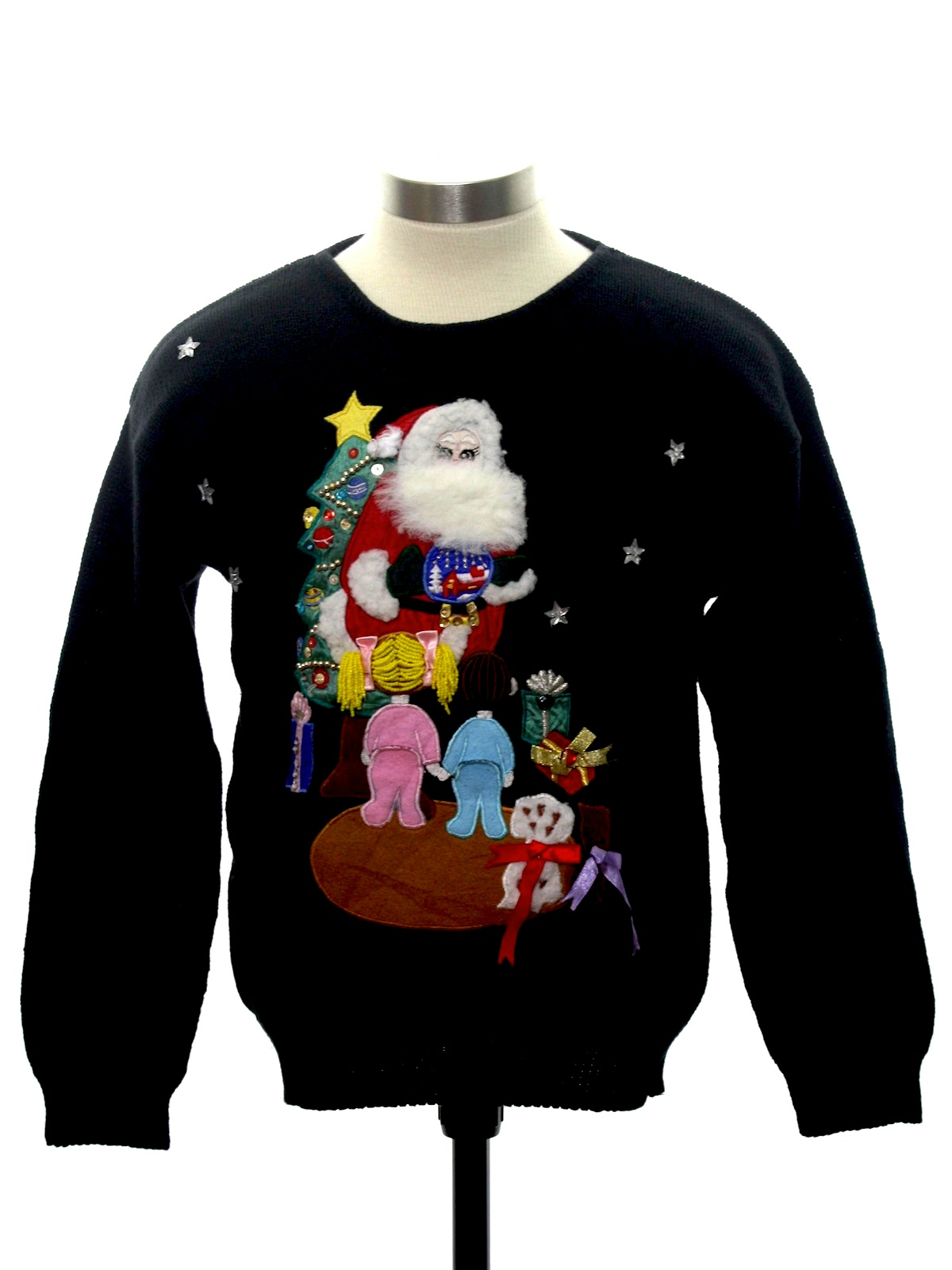 Petite Ladies Girls Or Boys Ugly Christmas Sweater Queenie And