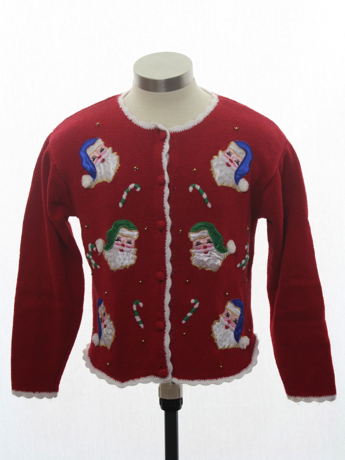 girls ugly christmas sweater 90s style airport petite womens or girls