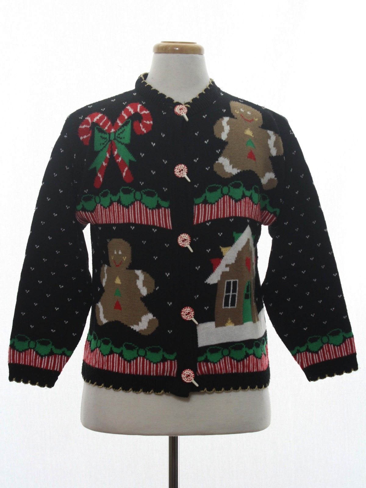 94f8146af1 Vintage 1980 s Womens Vintage Ugly Christmas Sweater  80s authentic ...