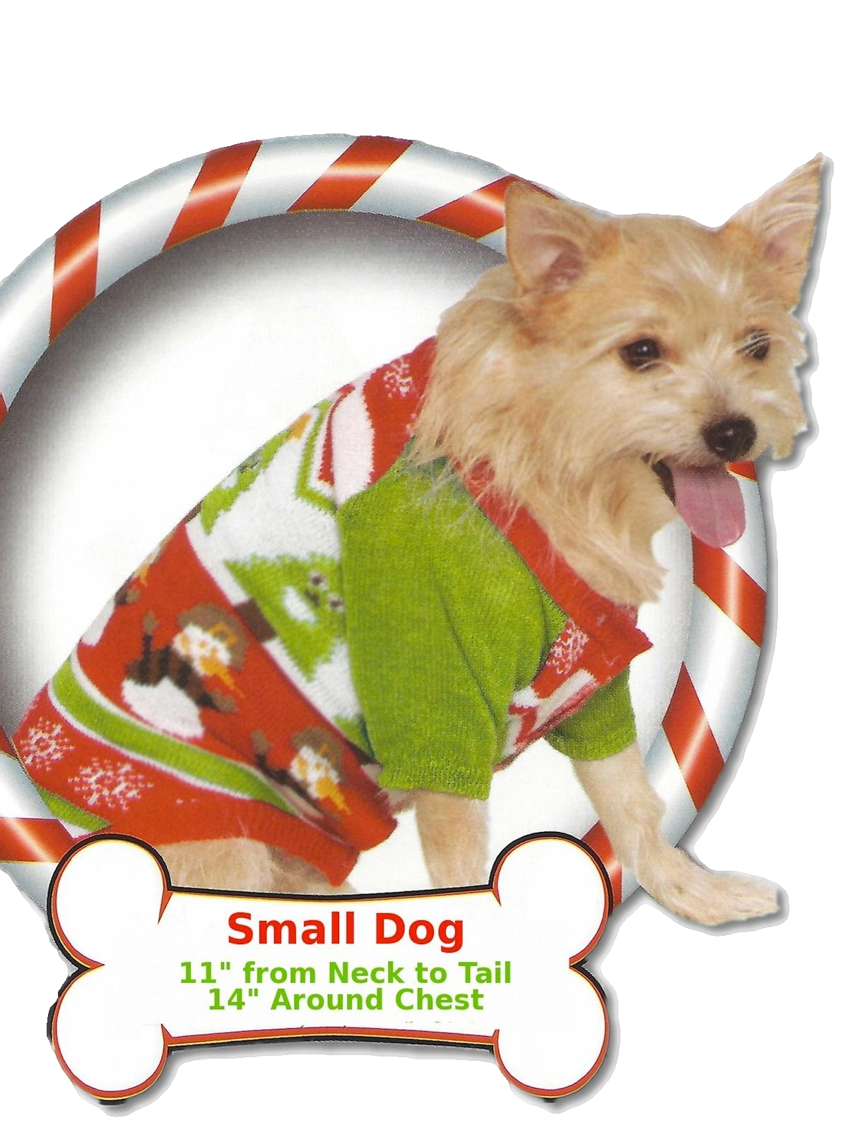 Ugly Dog Christmas Sweaters.Pet Boutique Unisex Ugly Christmas Sweater For Dogs
