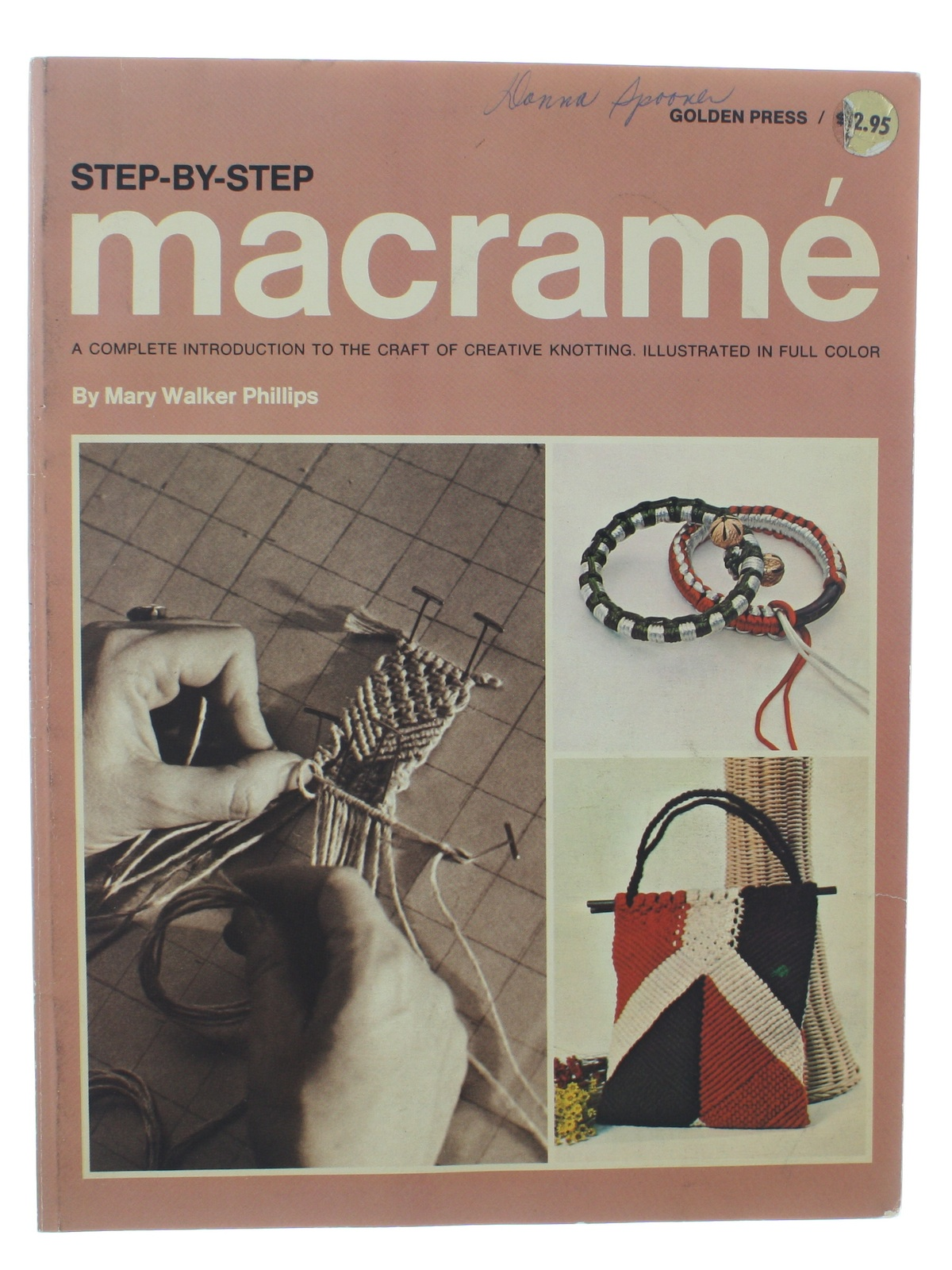 Macrame Book Cover Tutorial ~ S vintage sewing pattern step by macrame