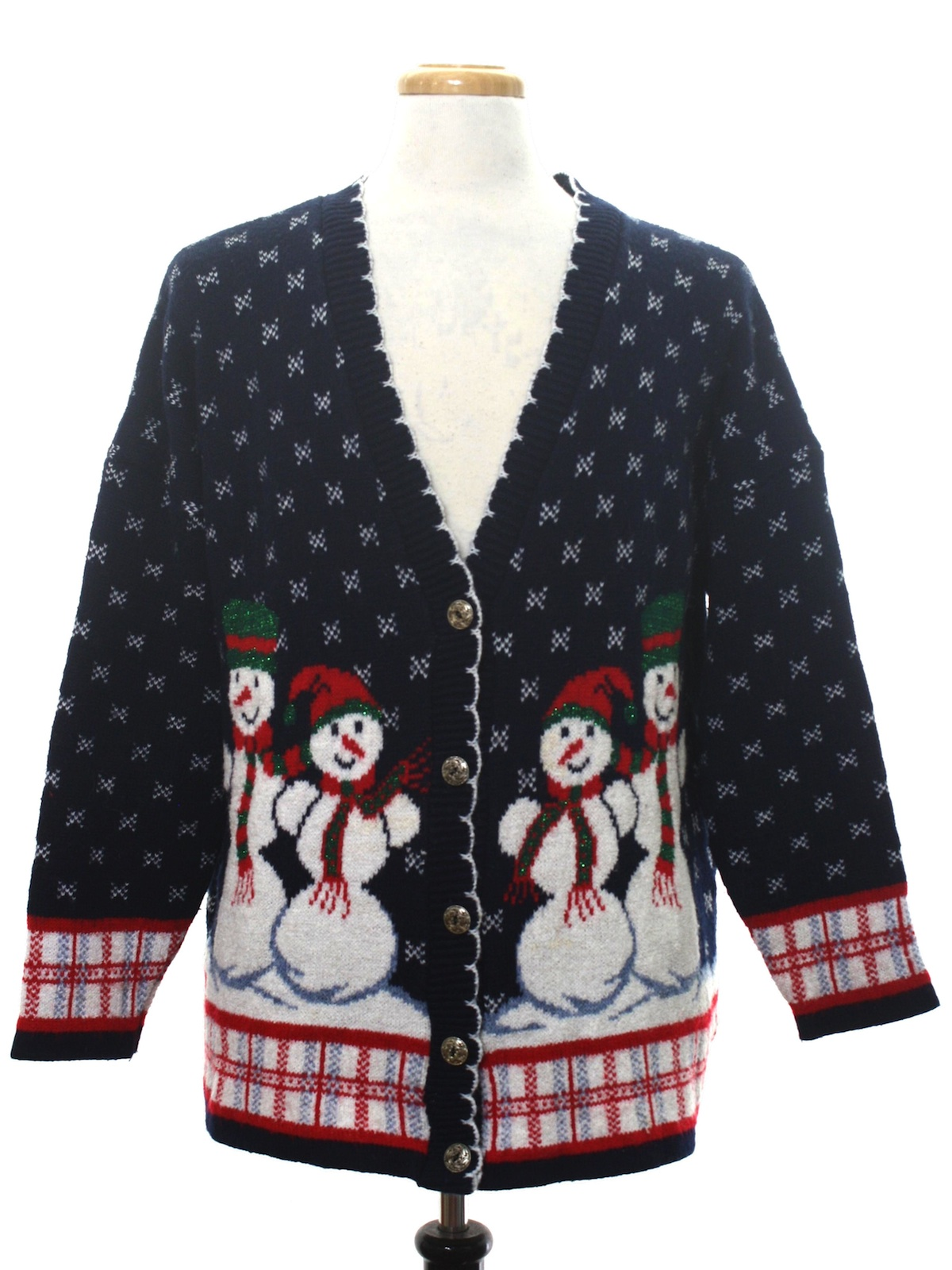 1980 s unisex vintage ugly christmas cardigan sweater $ 54 00 in stock