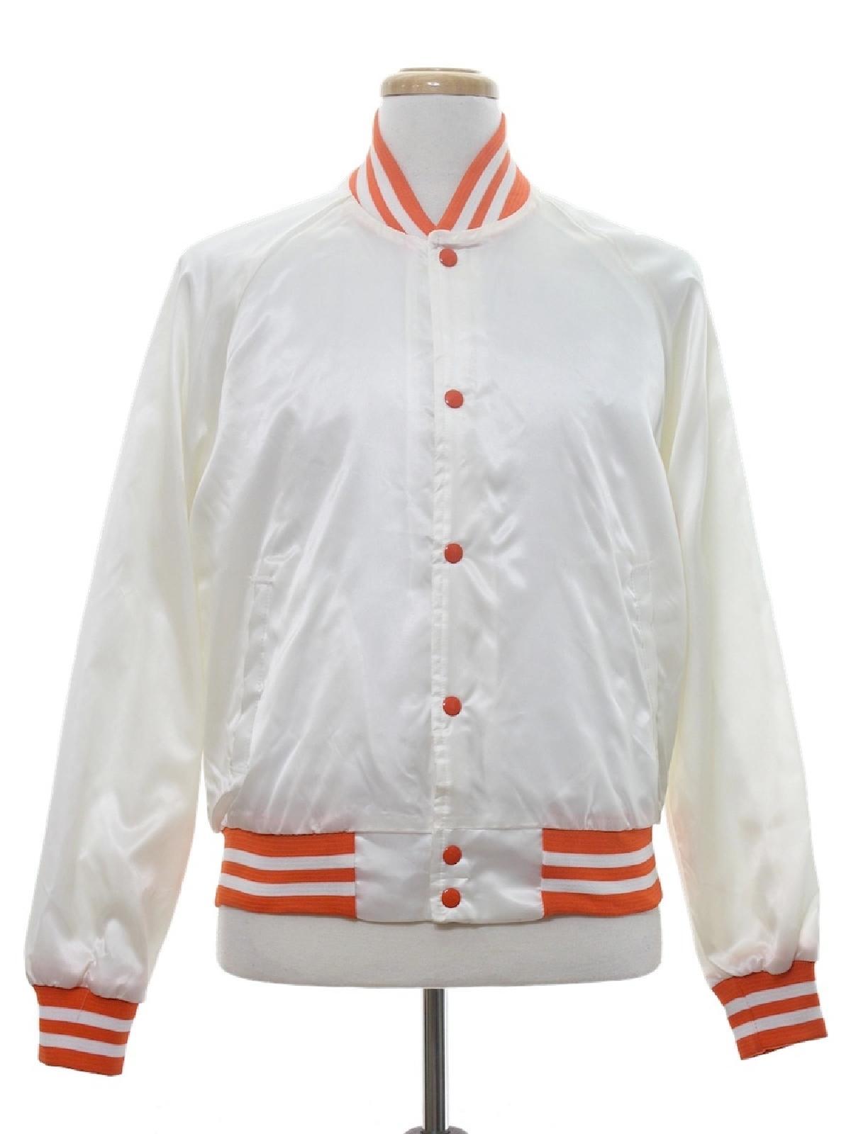 1980's Vintage Chalk Line Jacket: 80s -Chalk Line- Mens white ...