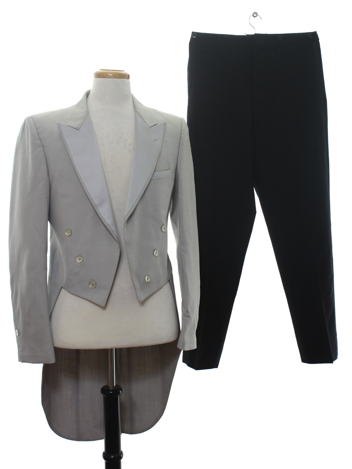 80s Vintage After Six Suit 80s After Six Mens Two Piece