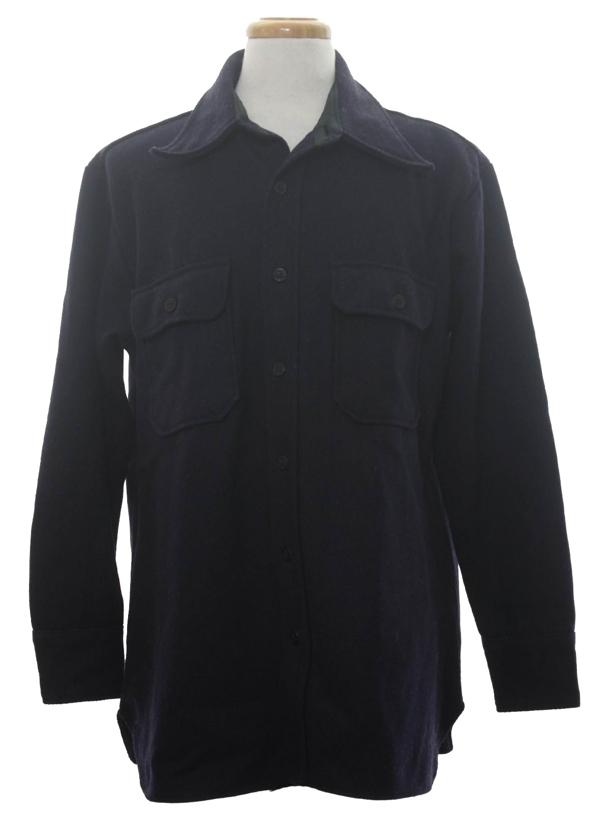 Vintage C P O 70 S Jacket 70s C P O Mens Dark Navy