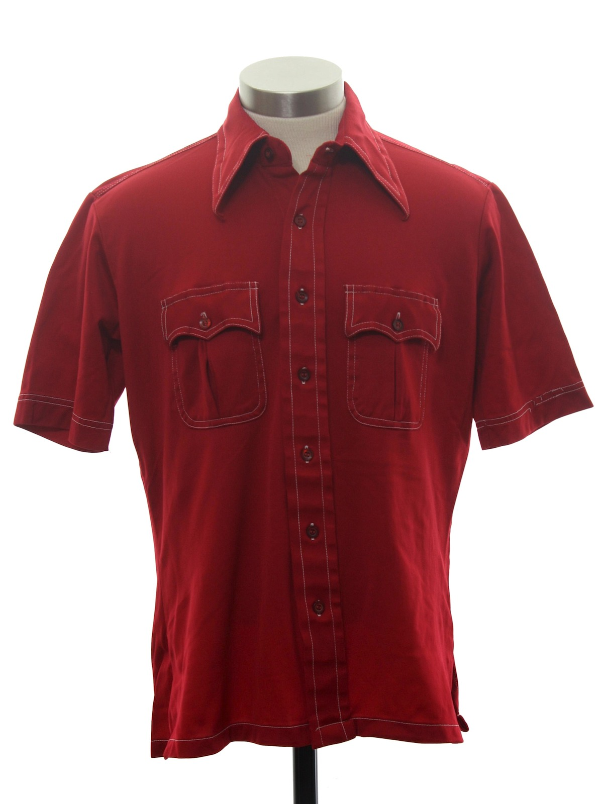 Vintage montgomery ward 1970s shirt 70s montgomery ward for Sports shirts near me