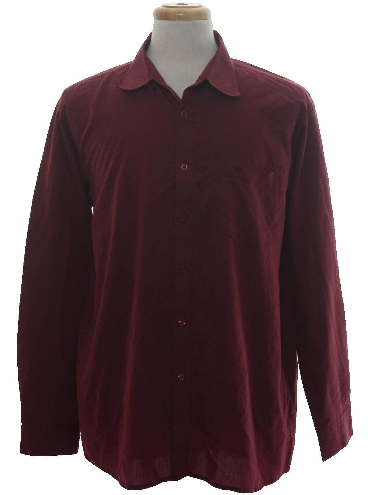 Shirt 90s georgio armani le collection mens designer for Solid color button up shirts