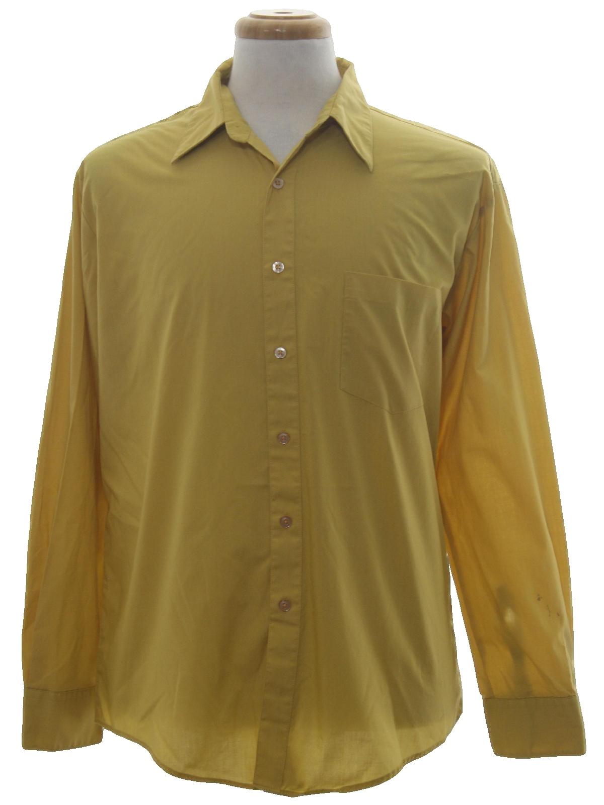 Eighties haband shirt 80s haband mens dijon yellow for Sports shirts near me