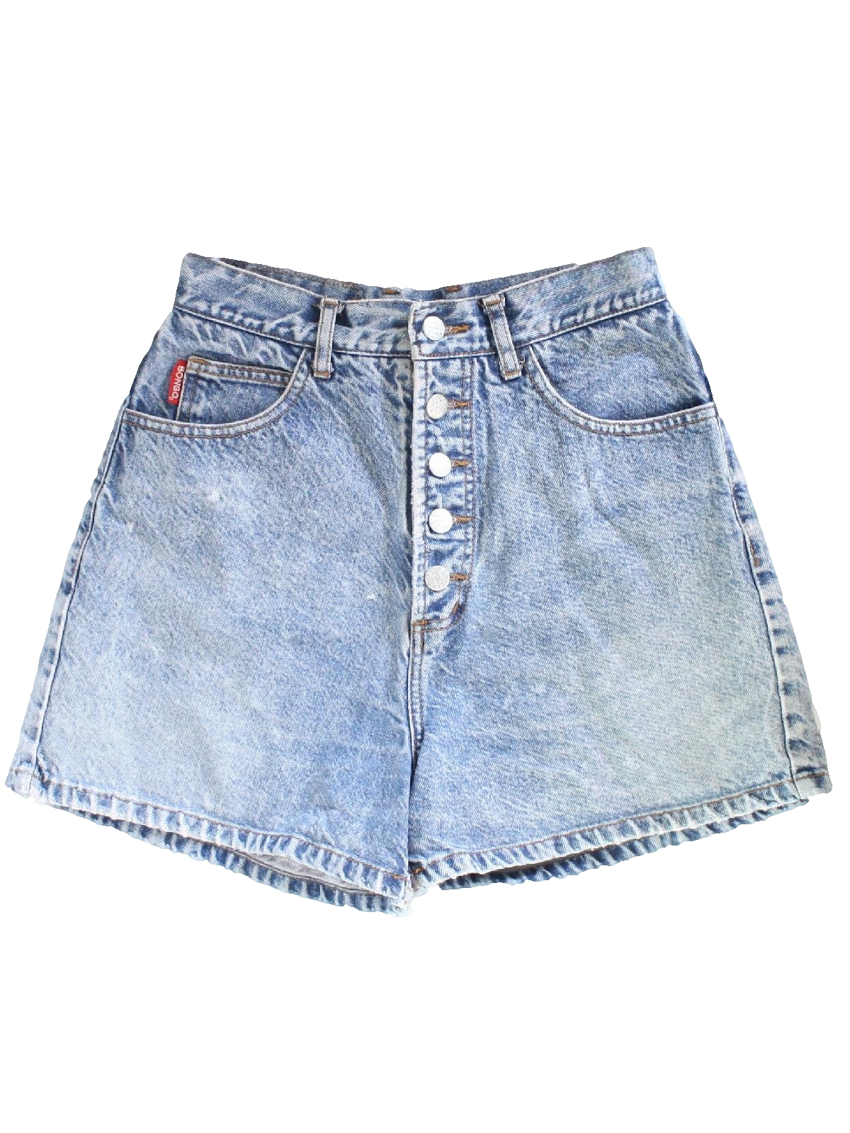 Nineties Bongo Shorts 90s Bongo Womens Blue Background