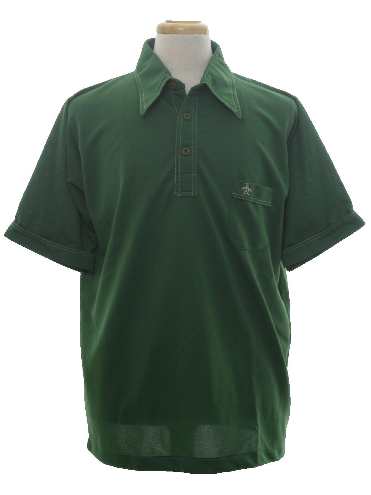 1970s grand slam munsingwear shirt 70s grand slam for Golf shirt with penguin logo
