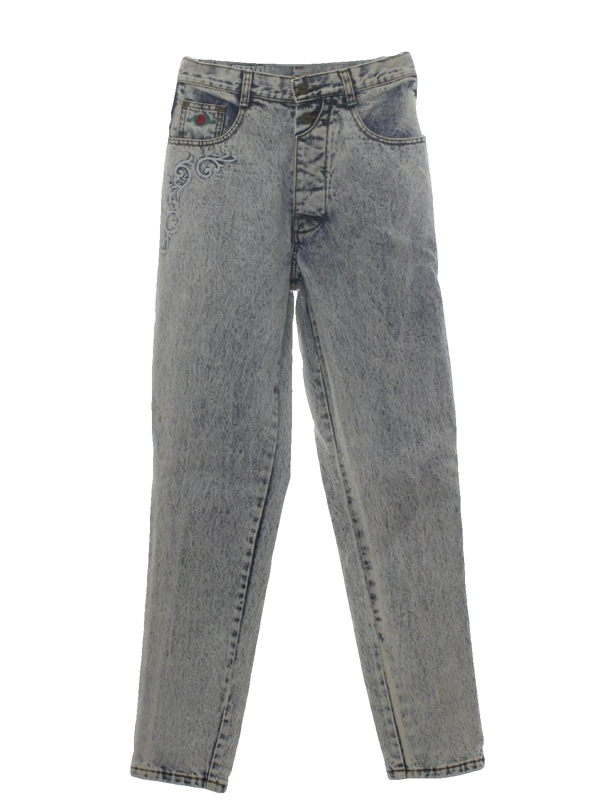 52fba1d730197 Retro 80 s Pants  80s -Nuovo Industriale- Womens blue stone washed ...