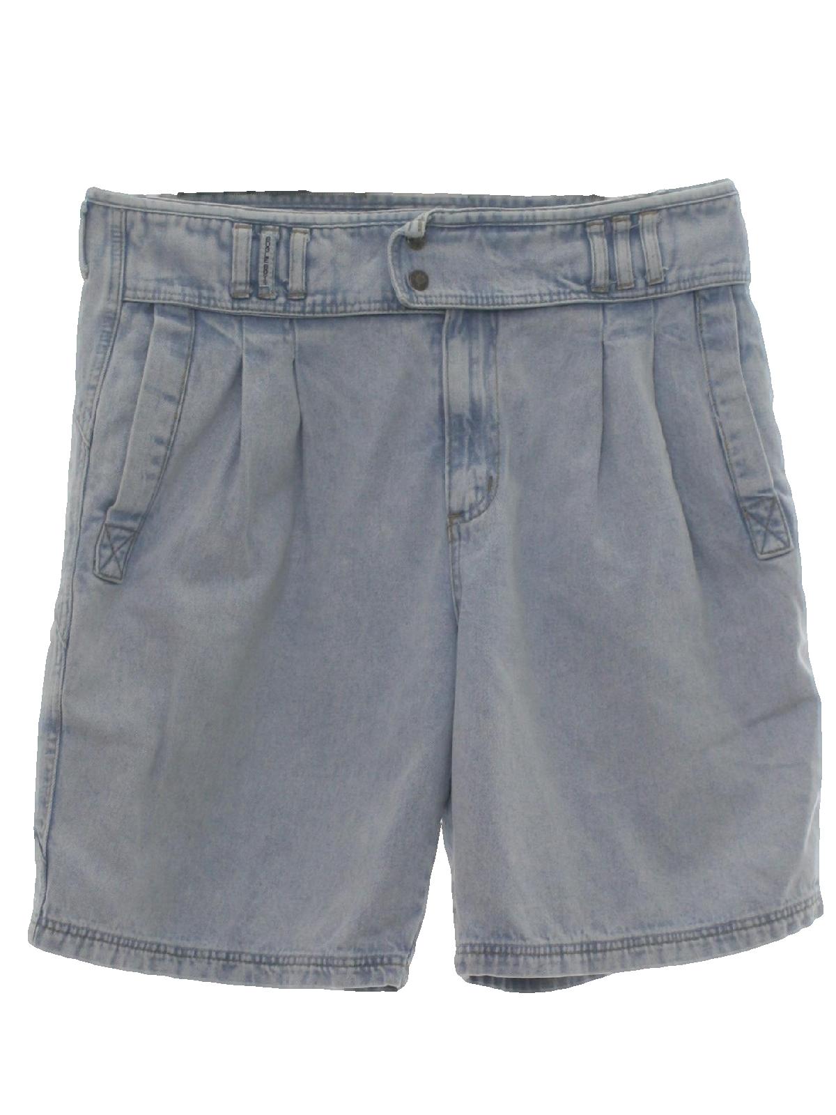 4f1e56da3 80s Shorts (Bugle Boy): 80s -Bugle Boy- Mens light blue background ...