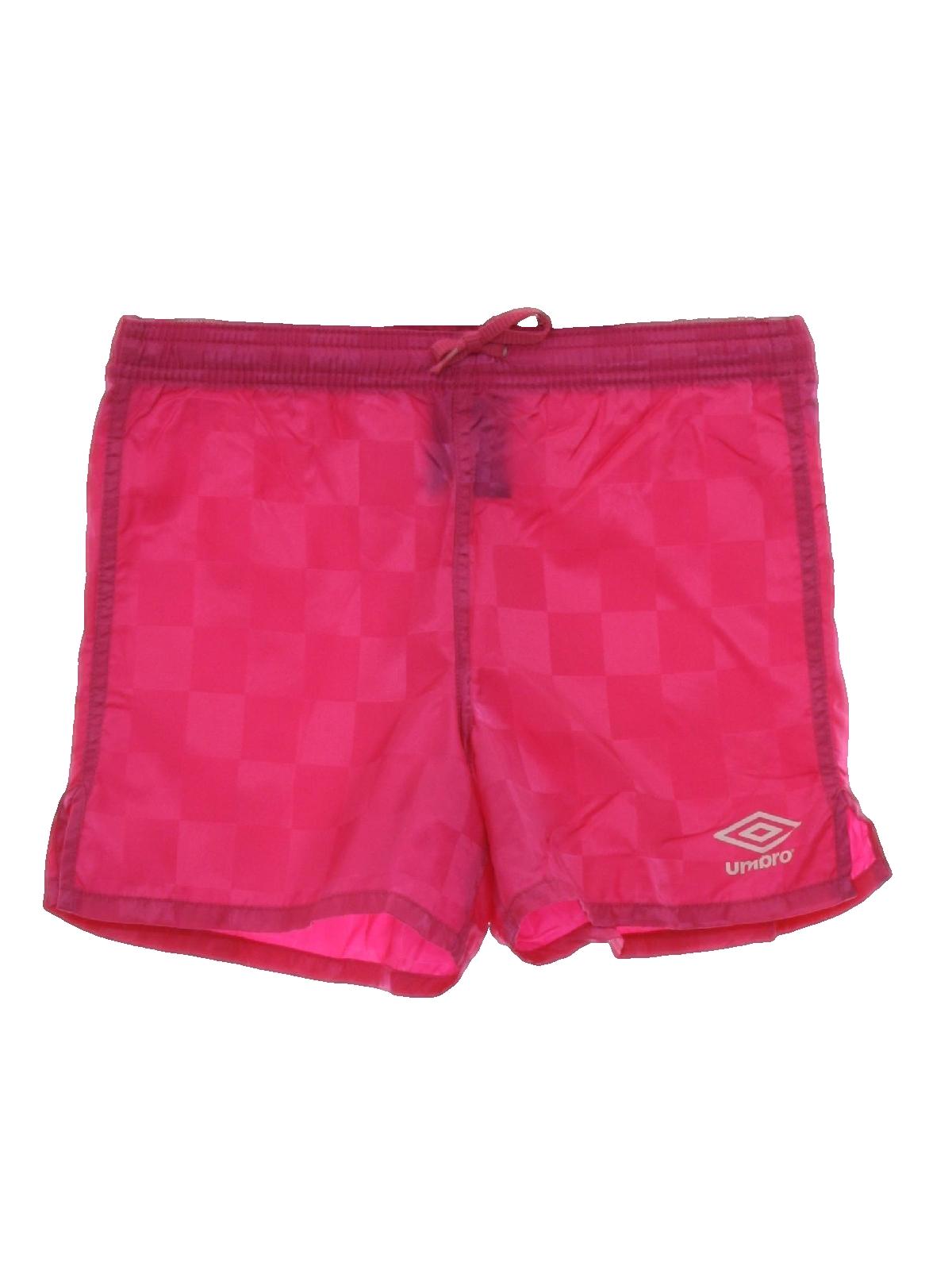 Retro 90s Shorts Umbro 90s Umbro Womens Girls Bright