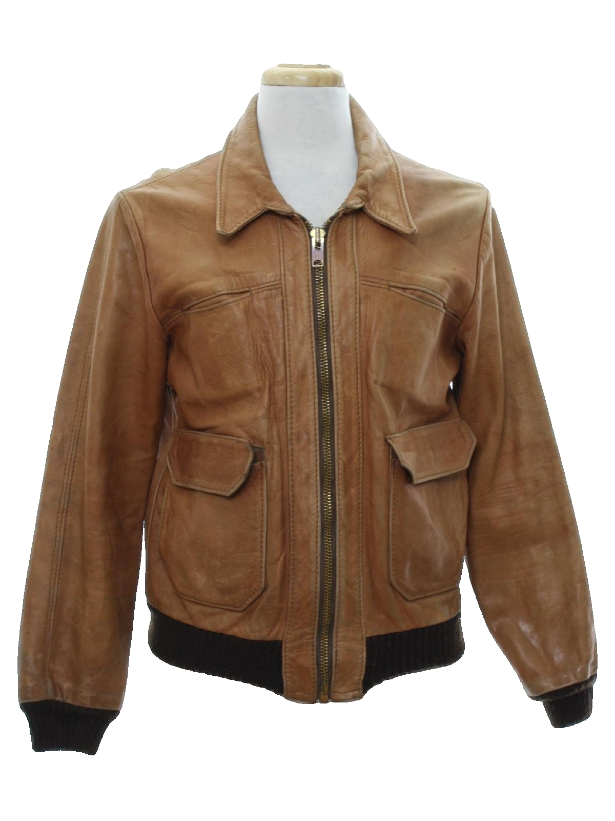 Mens Vintage Leather Jackets at RustyZipper.Com Vintage Clothing