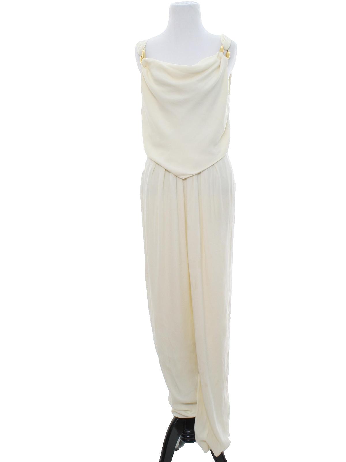 1980 39 S Vintage Anne Klein Suit 80s Anne Klein Ivory