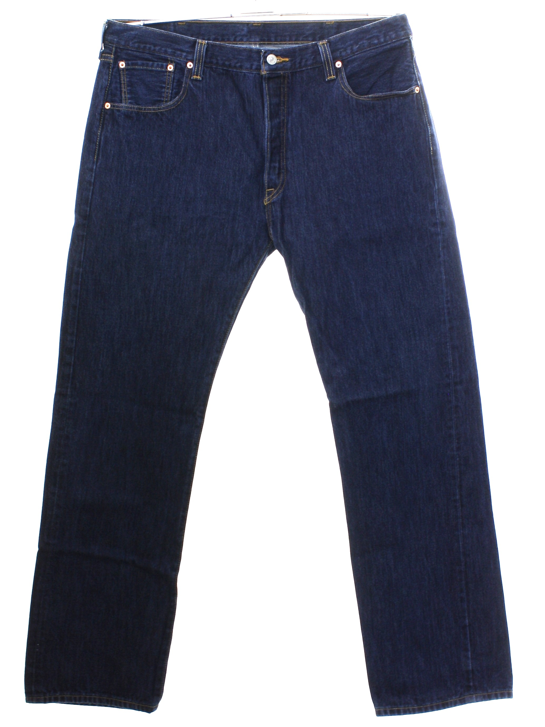 f4464ec9 1990's Retro Pants: 90s or newer -Levis- 501- Mens slightly worn ...